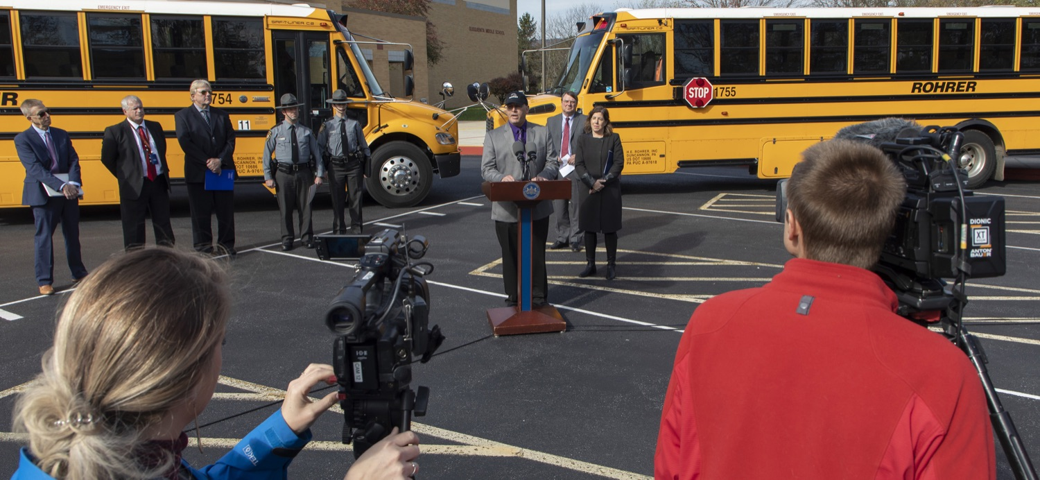 "<a href=""https://filesource.wostreaming.net/commonwealthofpa/photo/17458_pdot_safeStop_0002a.jpg"" target=""_blank"">⇣ Download Photo<br></a>Wolf Administration Stresses School Bus Safety, Announces Results of Enforcement Initiative"