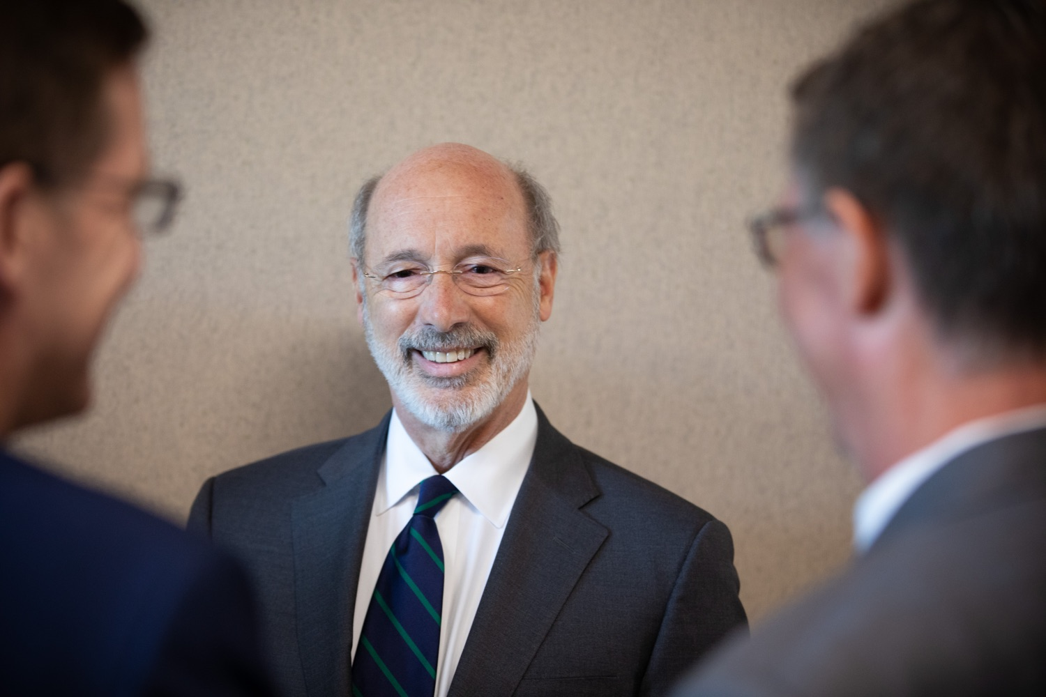 """<a href=""""https://filesource.wostreaming.net/commonwealthofpa/photo/17467_gov_opioids_dz_015.JPG"""" target=""""_blank"""">⇣Download Photo<br></a>Boalsburg, PA  Governor Tom Wolf speaking with summit attendees. Governor Tom Wolf today kicked off his administrations first Opioid Command Center Opioid Summit: Think Globally, Act Locally, which brought together 200 individuals helping their communities fight the opioid crisis, including community organizations, non-profits, schools, health care workers, addiction and recovery specialists, and families affected by the opioid crisis.  Tuesday, October 1, 2019Harrisburg, PA  Governor Tom Wolf today kicked off his administrations first Opioid Command Center Opioid Summit: Think Globally, Act Locally, which brought together 200 individuals helping their communities fight the opioid crisis, including community organizations, non-profits, schools, health care workers, addiction and recovery specialists, and families affected by the opioid crisis.  Tuesday, October 1, 2019"""
