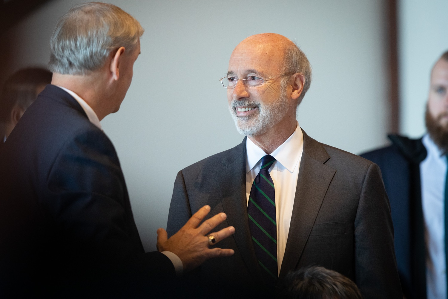 """<a href=""""https://filesource.wostreaming.net/commonwealthofpa/photo/17467_gov_opioids_dz_019.JPG"""" target=""""_blank"""">⇣Download Photo<br></a>Boalsburg, PA  Governor Tom Wolf speaking with summit attendees.  Governor Tom Wolf today kicked off his administrations first Opioid Command Center Opioid Summit: Think Globally, Act Locally, which brought together 200 individuals helping their communities fight the opioid crisis, including community organizations, non-profits, schools, health care workers, addiction and recovery specialists, and families affected by the opioid crisis.  Tuesday, October 1, 2019"""