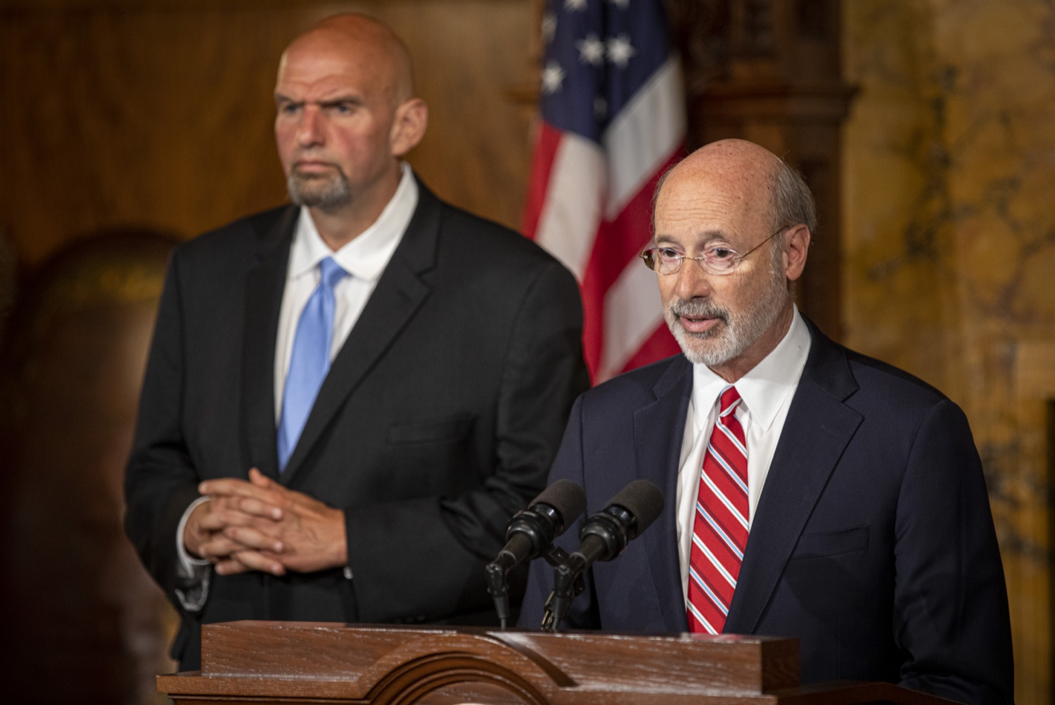 "<a href=""https://filesource.wostreaming.net/commonwealthofpa/photo/17468_GOV_BOP_DE_002.jpg"" target=""_blank"">⇣ Download Photo<br></a>Gov. Wolf, Lt. Gov, Pardons Board Provide Update on Pardons Process, Benefit to Those with Marijuana Convictions"