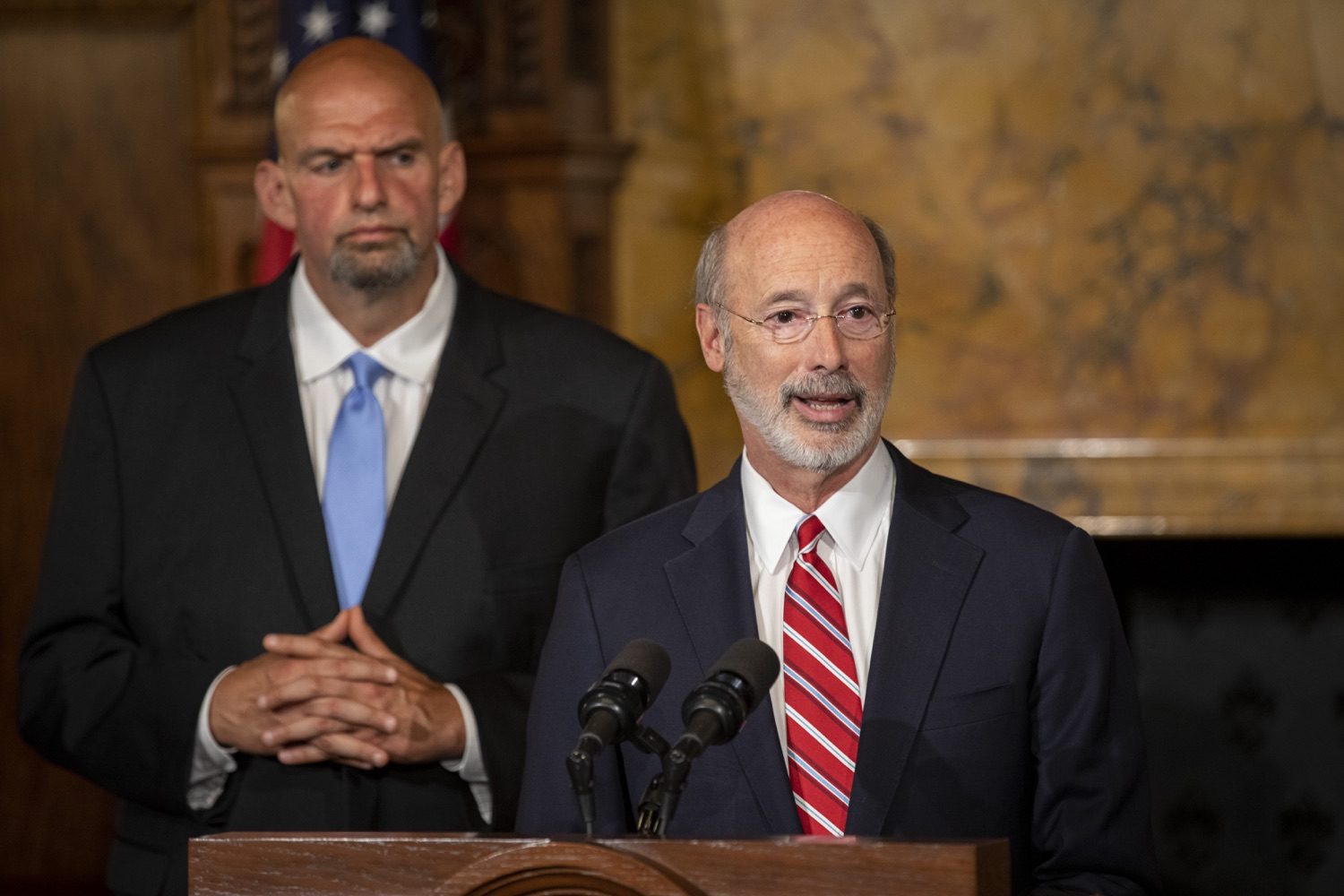 "<a href=""https://filesource.wostreaming.net/commonwealthofpa/photo/17468_GOV_BOP_DE_003.jpg"" target=""_blank"">⇣ Download Photo<br></a>Gov. Wolf, Lt. Gov, Pardons Board Provide Update on Pardons Process, Benefit to Those with Marijuana Convictions"
