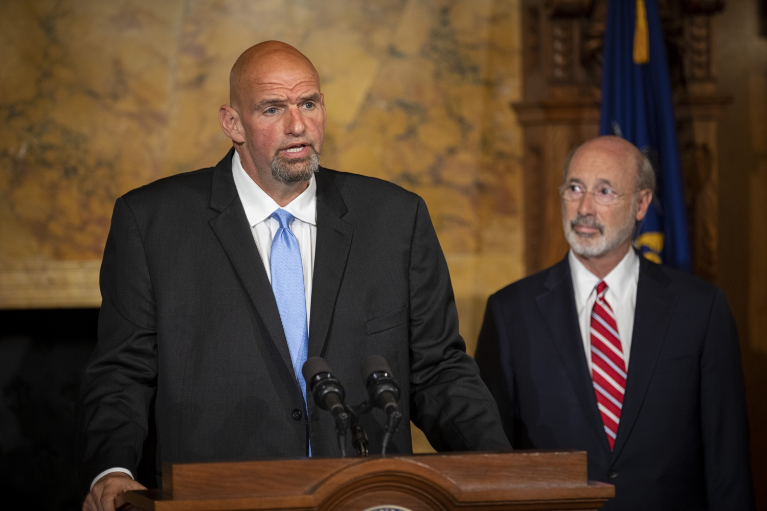 "<a href=""https://filesource.wostreaming.net/commonwealthofpa/photo/17468_GOV_BOP_DE_004.jpg"" target=""_blank"">⇣ Download Photo<br></a>Gov. Wolf, Lt. Gov, Pardons Board Provide Update on Pardons Process, Benefit to Those with Marijuana Convictions"