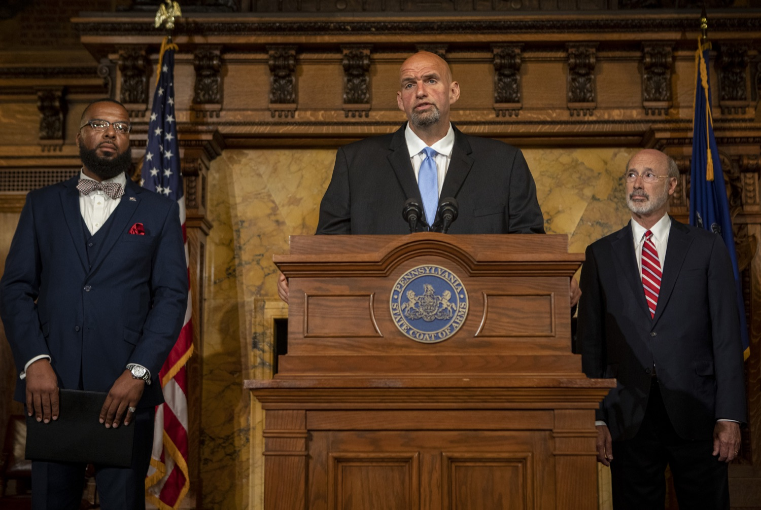 "<a href=""https://filesource.wostreaming.net/commonwealthofpa/photo/17468_GOV_BOP_DE_005.jpg"" target=""_blank"">⇣ Download Photo<br></a>Gov. Wolf, Lt. Gov, Pardons Board Provide Update on Pardons Process, Benefit to Those with Marijuana Convictions"