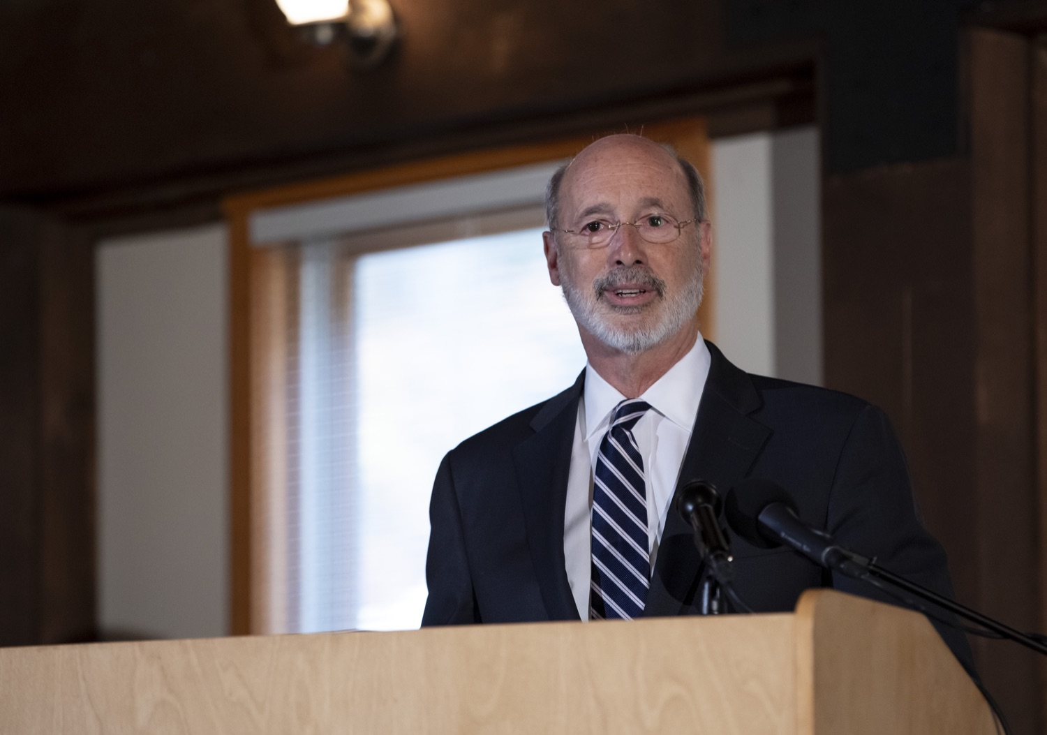 """<a href=""""https://filesource.wostreaming.net/commonwealthofpa/photo/17557_gov_dmva_rjw_003.jpg"""" target=""""_blank"""">⇣Download Photo<br></a>Governor Tom Wolf helped to honor two members inducted today into the Pennsylvania Department of Military and Veterans Affairs prestigious Hall of Fame, recognizing their exceptional service to the department that supports Pennsylvanias nearly 800,000 veterans and 18,000 members of the National Guard.  Chief Warrant Officer 5 (ret.) John K. Schreier of Selinsgrove, Snyder County; and John A. Brenner (posthumously) of Mt. Wolf, York County, are the 2019 inductees."""