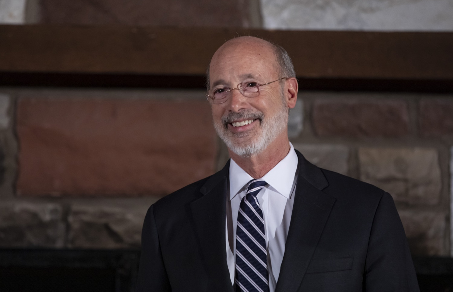 """<a href=""""https://filesource.wostreaming.net/commonwealthofpa/photo/17557_gov_dmva_rjw_019.jpg"""" target=""""_blank"""">⇣Download Photo<br></a>Governor Tom Wolf helped to honor two members inducted today into the Pennsylvania Department of Military and Veterans Affairs prestigious Hall of Fame, recognizing their exceptional service to the department that supports Pennsylvanias nearly 800,000 veterans and 18,000 members of the National Guard.  Chief Warrant Officer 5 (ret.) John K. Schreier of Selinsgrove, Snyder County; and John A. Brenner (posthumously) of Mt. Wolf, York County, are the 2019 inductees."""