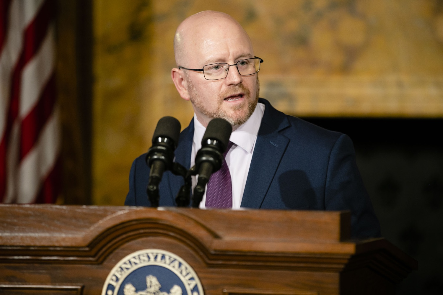 "<a href=""https://filesource.wostreaming.net/commonwealthofpa/photo/17564_GOV_aca_amb_011.jpg"" target=""_blank"">⇣ Download Photo<br></a>Governor Tom Wolf and Insurance Commissioner Jessica Altman advised Pennsylvanians that now is the time to buy health insurance on the federal exchange, healthcare.gov, as open enrollment continues for Affordable Care Act (ACA) plans through Dec. 15. Consumers have more options in Pennsylvania, and many will find they qualify for subsidies. November 7, 2019. Harrisburg, PA."