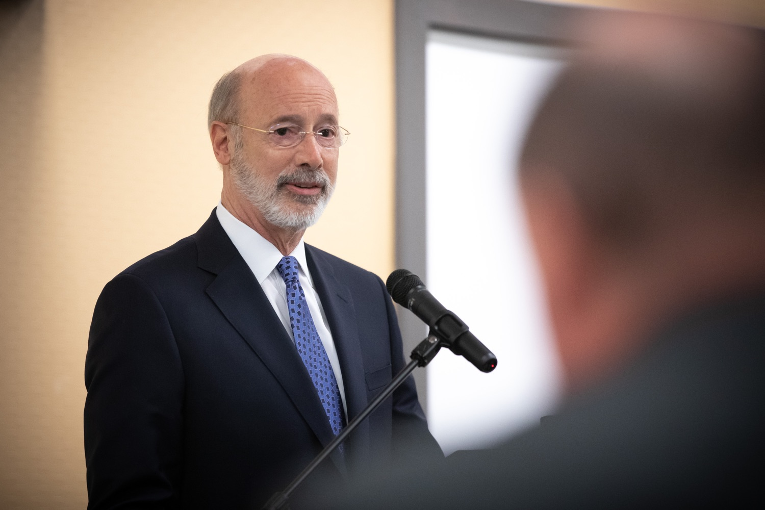 """<a href=""""https://filesource.wostreaming.net/commonwealthofpa/photo/17598_gov_charter_schools_dz_019.jpg"""" target=""""_blank"""">⇣Download Photo<br></a>Pennsylvania Governor Tom Wolf speaks about charter school reform at a meeting of the Pennsylvania Association of School Administrators.  Governor Tom Wolfs commonsense plan to improve the educational quality of charter schools and control rising costs will save nearly $280 million a year, the governor told the Pennsylvania Association of School Administrators today. The governor has a three-part plan to fix Pennsylvanias charter school law which is regarded as one of the worst in the nation.  - Harrisburg, PA. Friday, November 15, 2019."""
