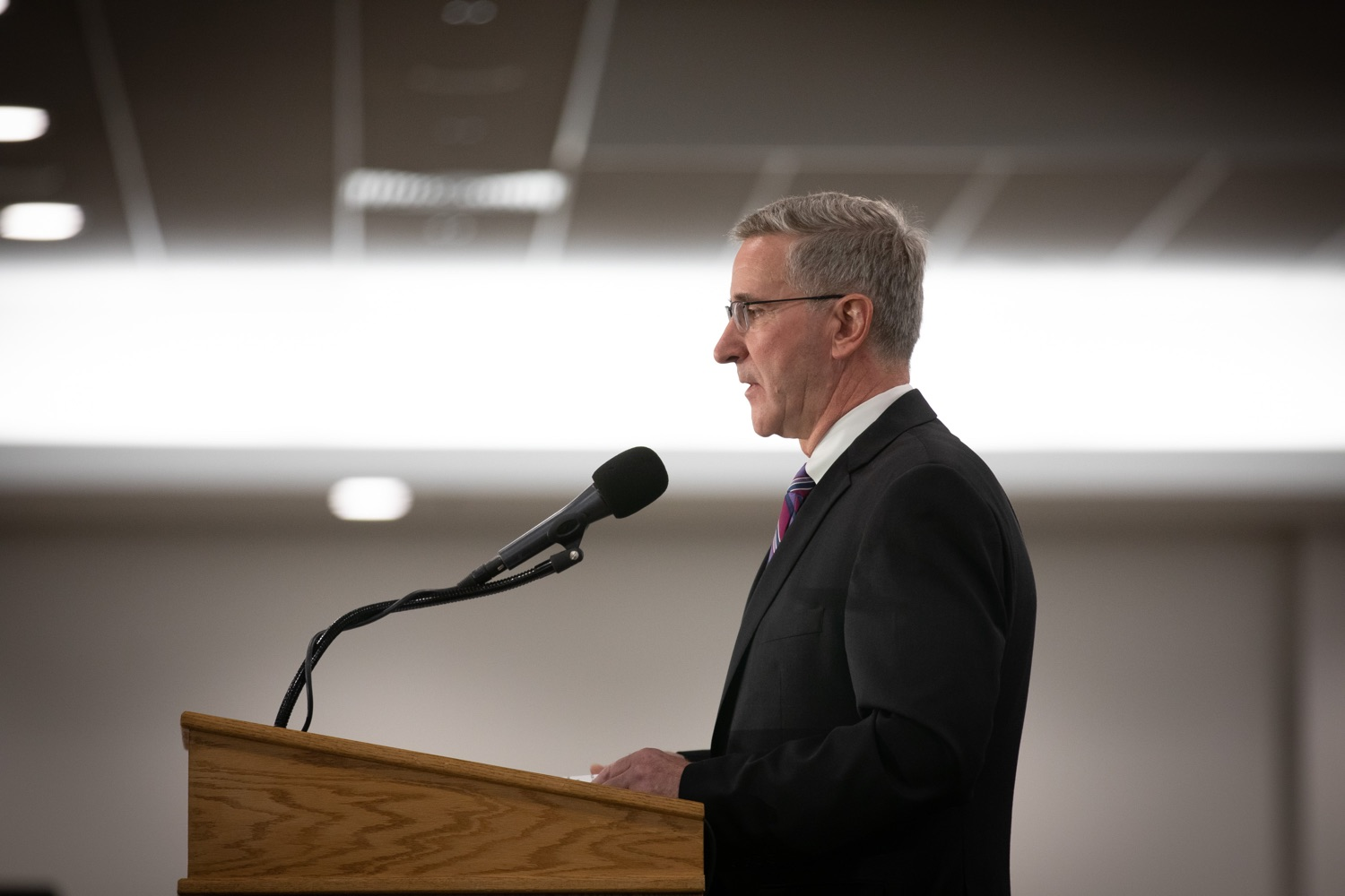 """<a href=""""https://filesource.wostreaming.net/commonwealthofpa/photo/17650_agric_public_officials_day_dz_015.jpg"""" target=""""_blank"""">⇣Download Photo<br></a>Agriculture Secretary Russell Redding speaks at Public Officials Day.  Addressing nearly 800 public officials at the Pennsylvania Farm Show today, Agriculture Secretary Russell Redding announced the opening of the last grant program made possible by the 2019 PA Farm Bill. The $1 million Farm Vitality Grant Program aims to enhance the long-term health and vitality of Pennsylvanias family farms. Harrisburg, PA  January 08, 2020"""