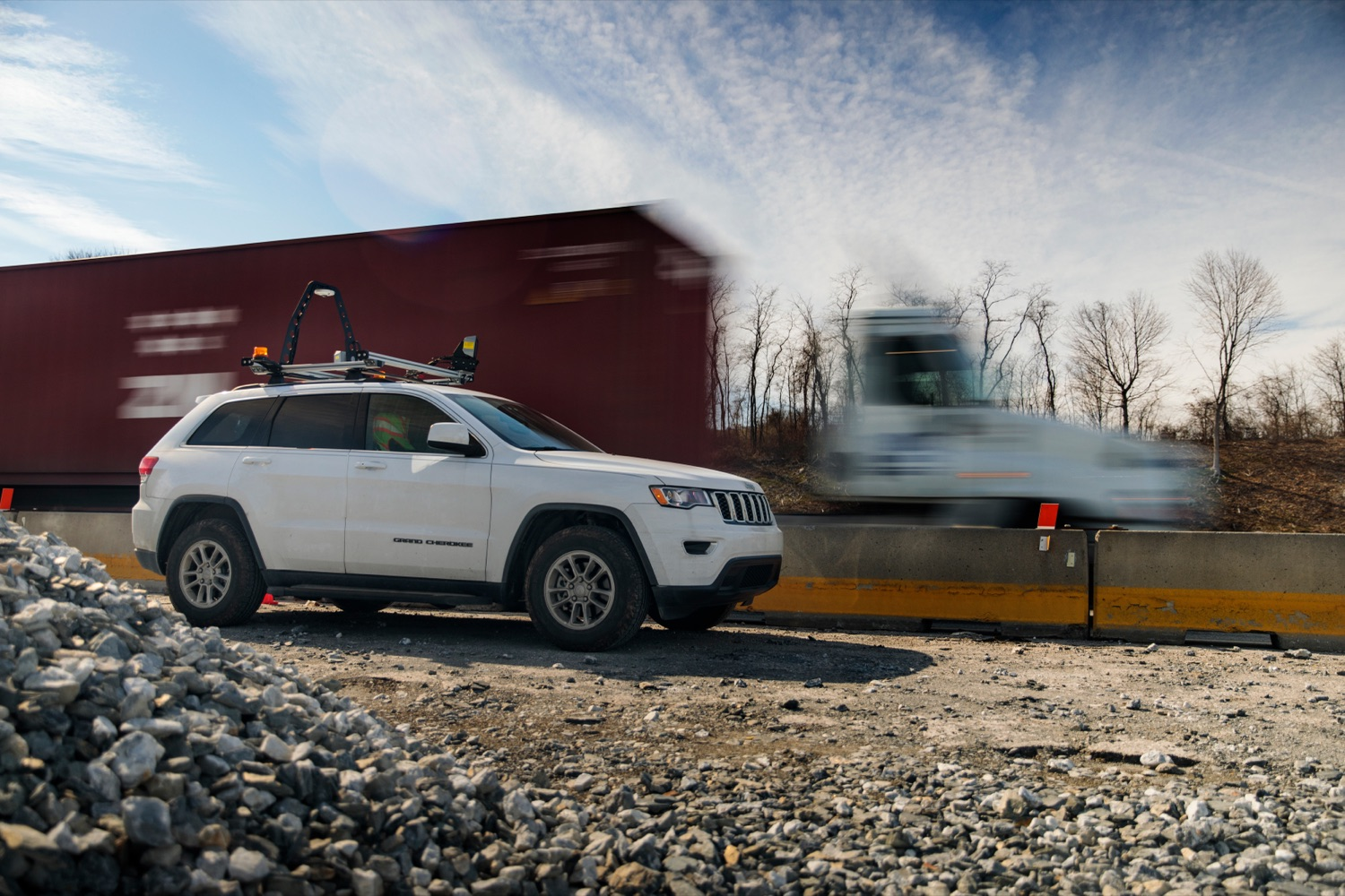 """<a href=""""https://filesource.wostreaming.net/commonwealthofpa/photo/17774_PennDOT_AWZSE_NK_007.JPG"""" target=""""_blank"""">⇣Download Photo<br></a>Pennsylvanias AWZSE program uses vehicle-mounted systems to detect and record motorists exceeding posted work zone speed limits by 11 miles per hour or more using electronic speed timing devices. AWZSE systems are only operational in active work zones where workers are present. Beginning today, registered owners will receive a warning letter for a first offense, a violation notice and $75 fine for a second offense, and a violation notice and $150 fine for third and subsequent offenses. These violations are civil penalties only; no points will be assessed to drivers licenses."""