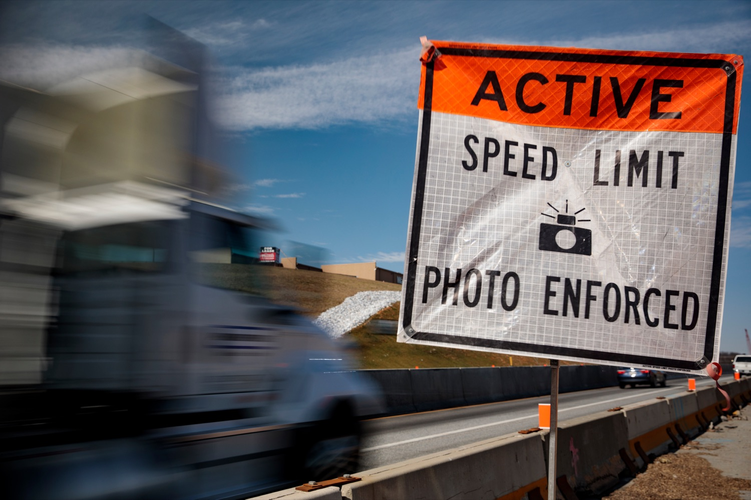 """<a href=""""https://filesource.wostreaming.net/commonwealthofpa/photo/17774_PennDOT_AWZSE_NK_009.JPG"""" target=""""_blank"""">⇣Download Photo<br></a>Pennsylvanias AWZSE program uses vehicle-mounted systems to detect and record motorists exceeding posted work zone speed limits by 11 miles per hour or more using electronic speed timing devices. AWZSE systems are only operational in active work zones where workers are present. Beginning today, registered owners will receive a warning letter for a first offense, a violation notice and $75 fine for a second offense, and a violation notice and $150 fine for third and subsequent offenses. These violations are civil penalties only; no points will be assessed to drivers licenses."""
