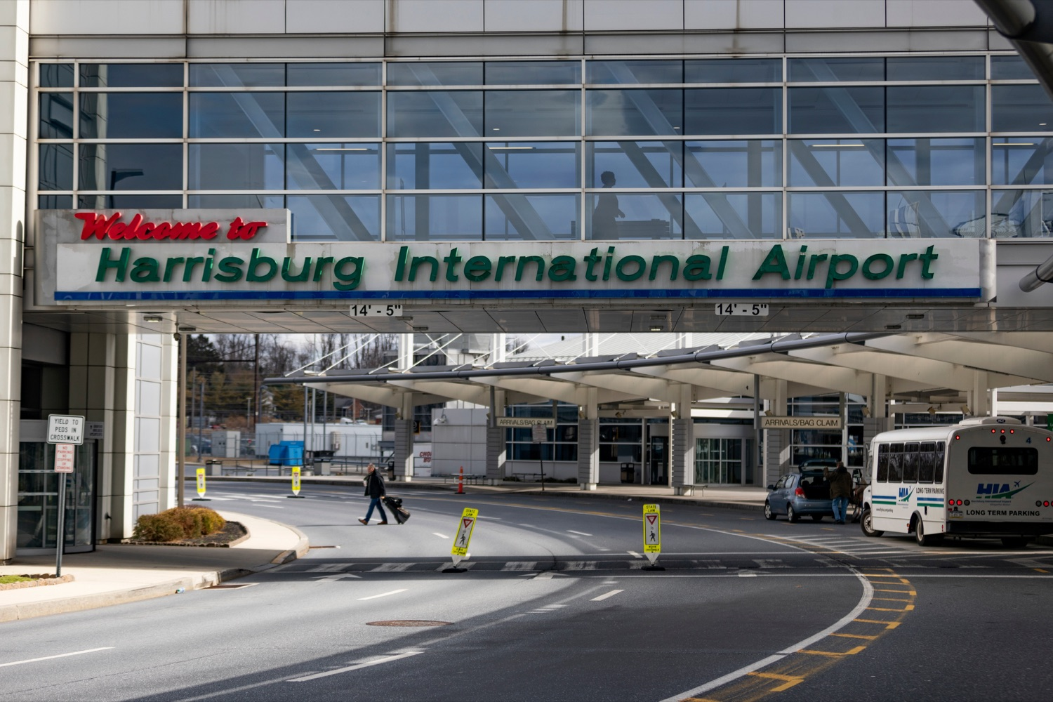 "<a href=""https://filesource.wostreaming.net/commonwealthofpa/photo/17806_DOH_Naloxone_Airports_NK_001.JPG"" target=""_blank"">⇣ Download Photo<br></a>The exterior of Harrisburg International Airport on Thursday, February 27, 2020."
