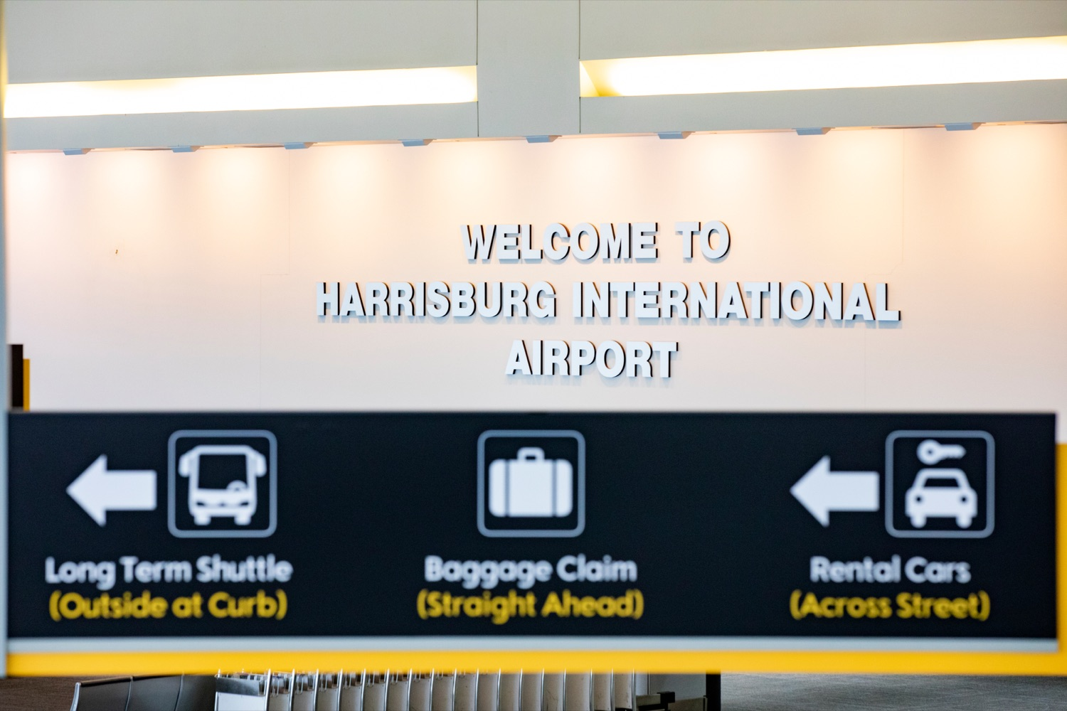 "<a href=""https://filesource.wostreaming.net/commonwealthofpa/photo/17806_DOH_Naloxone_Airports_NK_007.JPG"" target=""_blank"">⇣ Download Photo<br></a>The interior of Harrisburg International Airport on Thursday, February 27, 2020."