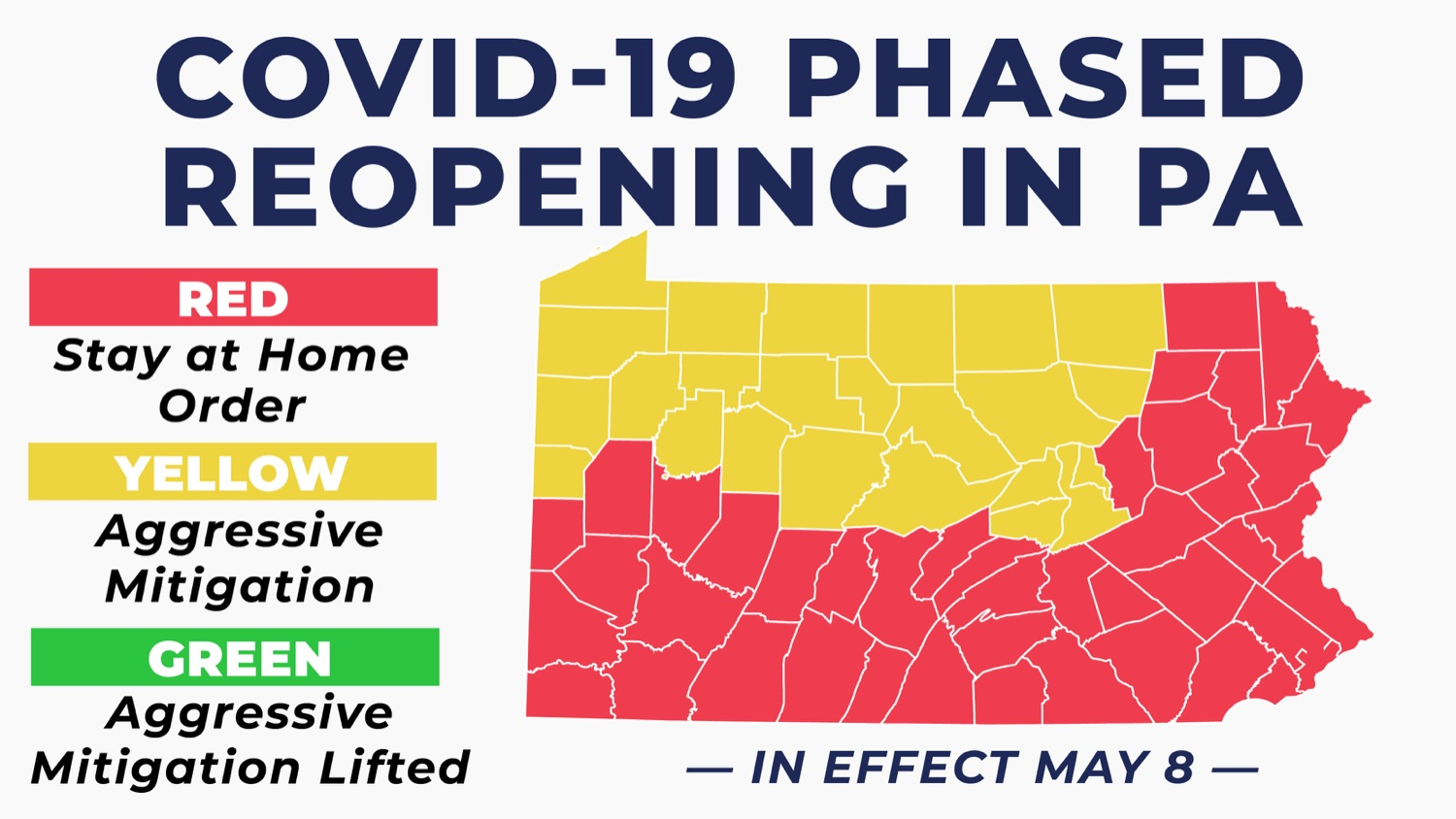 "<a href=""https://filesource.wostreaming.net/commonwealthofpa/photo/17988_gov_doh_covid_02.jpg"" target=""_blank"">⇣ Download Photo<br></a>Gov. Wolf Announces Reopening of 24 Counties Beginning May 8"