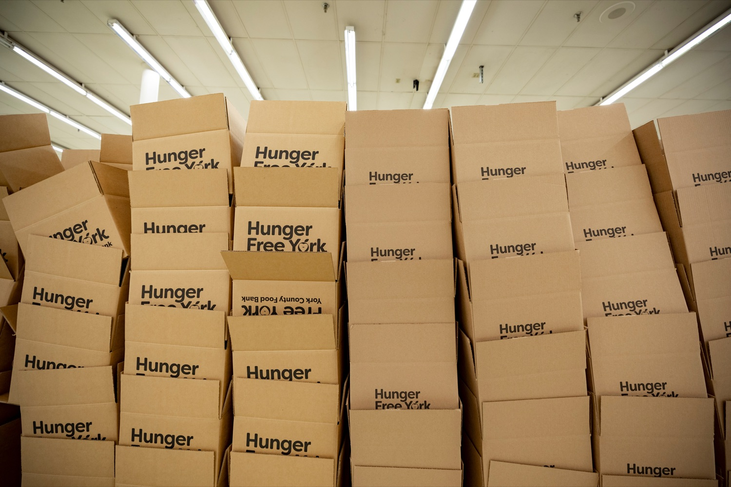 "<a href=""https://filesource.wostreaming.net/commonwealthofpa/photo/18095_GOV_Food_Bank_Volunteers_NK_015.jpg"" target=""_blank"">⇣ Download Photo<br></a>Boxes to be filled with food are pictured inside York County Food Banks East York Emergency Food Hub on Tuesday, June 23, 2020. ,"