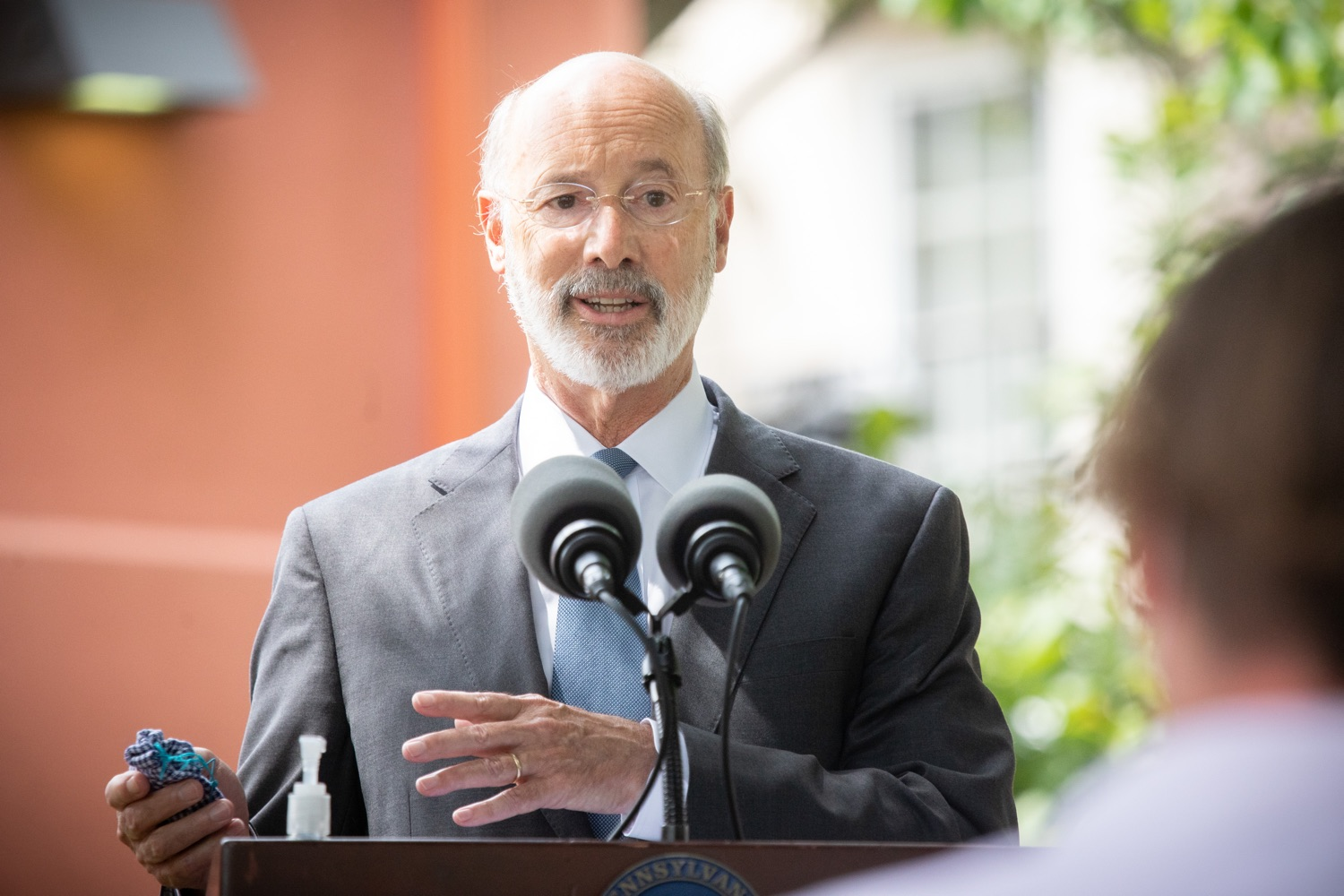 "<a href=""https://filesource.wostreaming.net/commonwealthofpa/photo/18178_GOV_Lancaster_Health_dz__11.jpg"" target=""_blank"">⇣ Download Photo<br></a>Pennsylvania Governor Tom Wolf speaking at the event.  Governor Tom Wolf today visited Lancaster Health Center, a federally qualified health center, to thank staff for their work to ensure the communitys most vulnerable receive care during COVID-19 and year-round.  Harrisburg, PA  July 24, 2020"