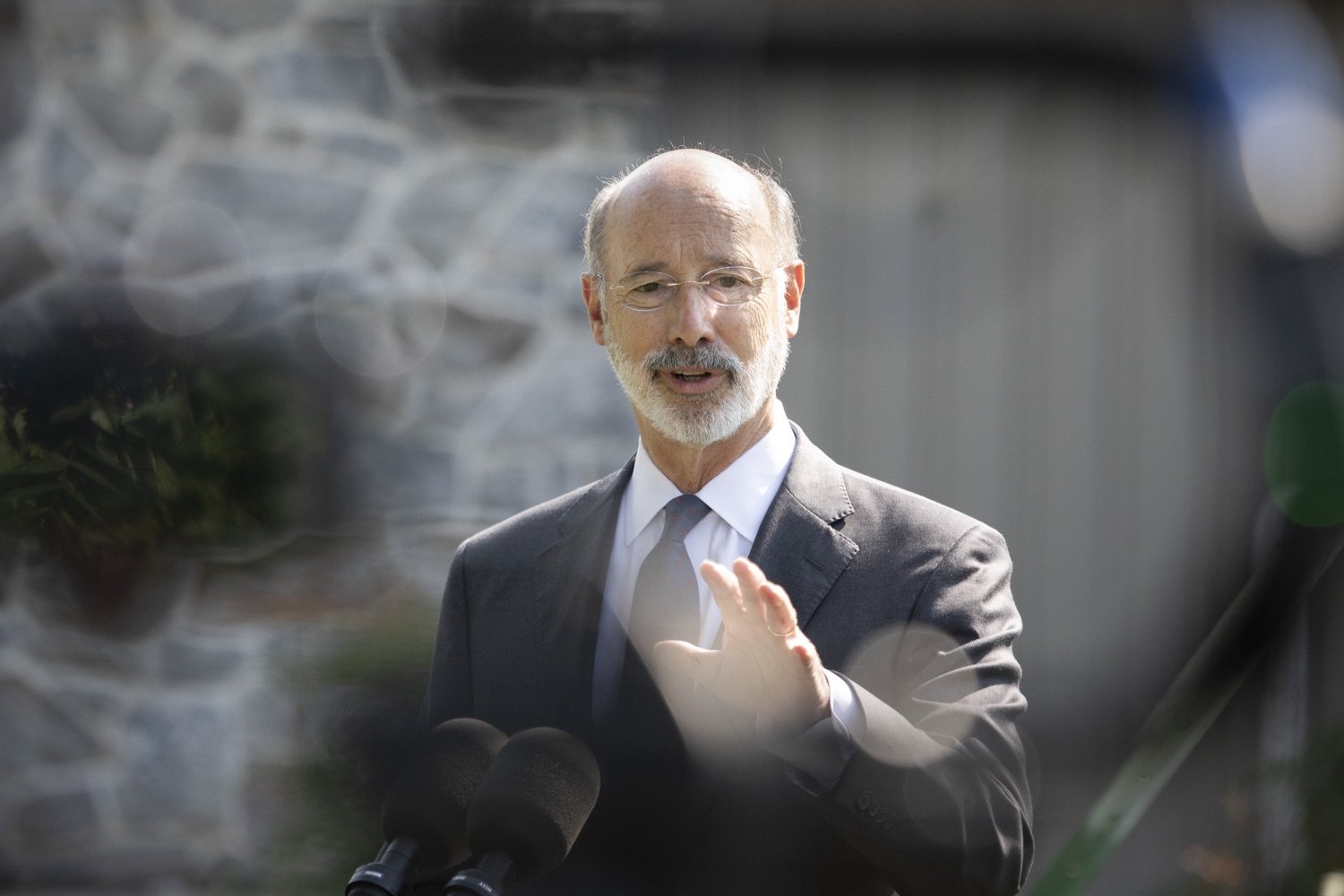 "<a href=""https://filesource.wostreaming.net/commonwealthofpa/photo/18248_gov_evictions_dz_028.jpg"" target=""_blank"">⇣ Download Photo<br></a>Pennsylvania Governor Tom Wolf speaking to the press. With rent and mortgage debt mounting for hundreds of thousands of Pennsylvanians, Governor Tom Wolf is calling on the General Assembly to fix a state relief program to prevent many families from becoming homeless and enact a moratorium on evictions and foreclosures until the end of the year. The governor was joined today by legislators and housing advocates at a press conference in Lancaster County. Harrisburg, PA  Sept. 8, 2020"