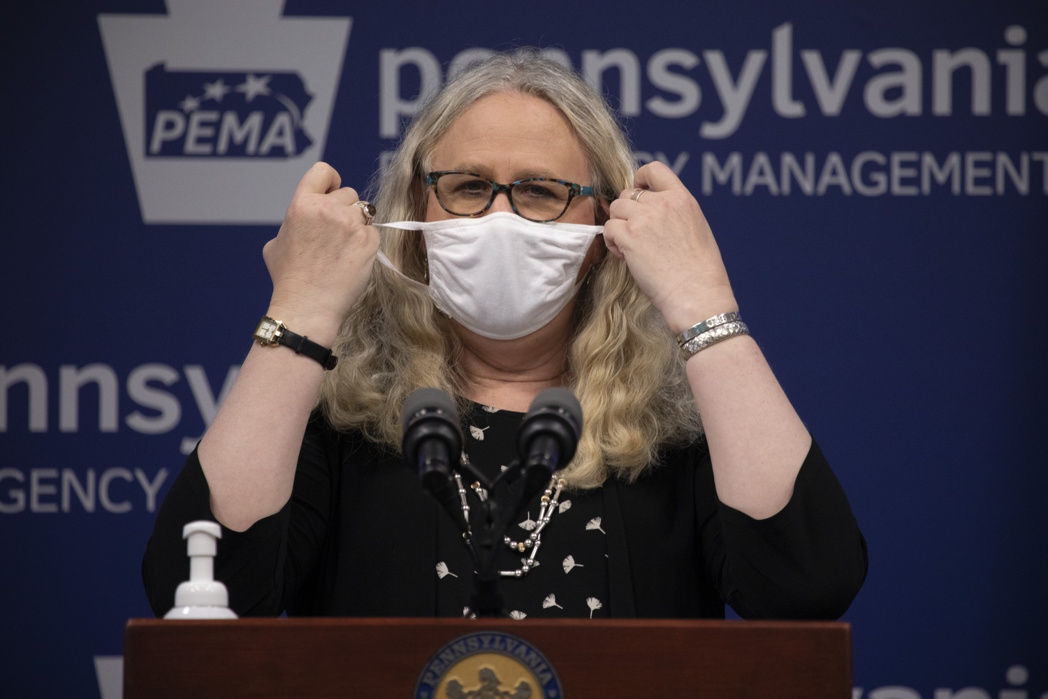 "<a href=""https://filesource.wostreaming.net/commonwealthofpa/photo/18258_doh_covidUpdate_dz_012.jpg"" target=""_blank"">⇣ Download Photo<br></a>Pennsylvania Secretary of Health Dr. Rachel Levine speaking to the press.  The Pennsylvania Department of Health today confirmed as of 12:00 a.m., September 14, that there were 638 additional positive cases of COVID-19 on September 13 and 620 additional positive cases of COVID-19 on September 14, bringing the statewide total to 145,063. All 67 counties in Pennsylvania have cases of COVID-19.  SEPTEMBER 14, 2020 - HARRISBURG, PA"