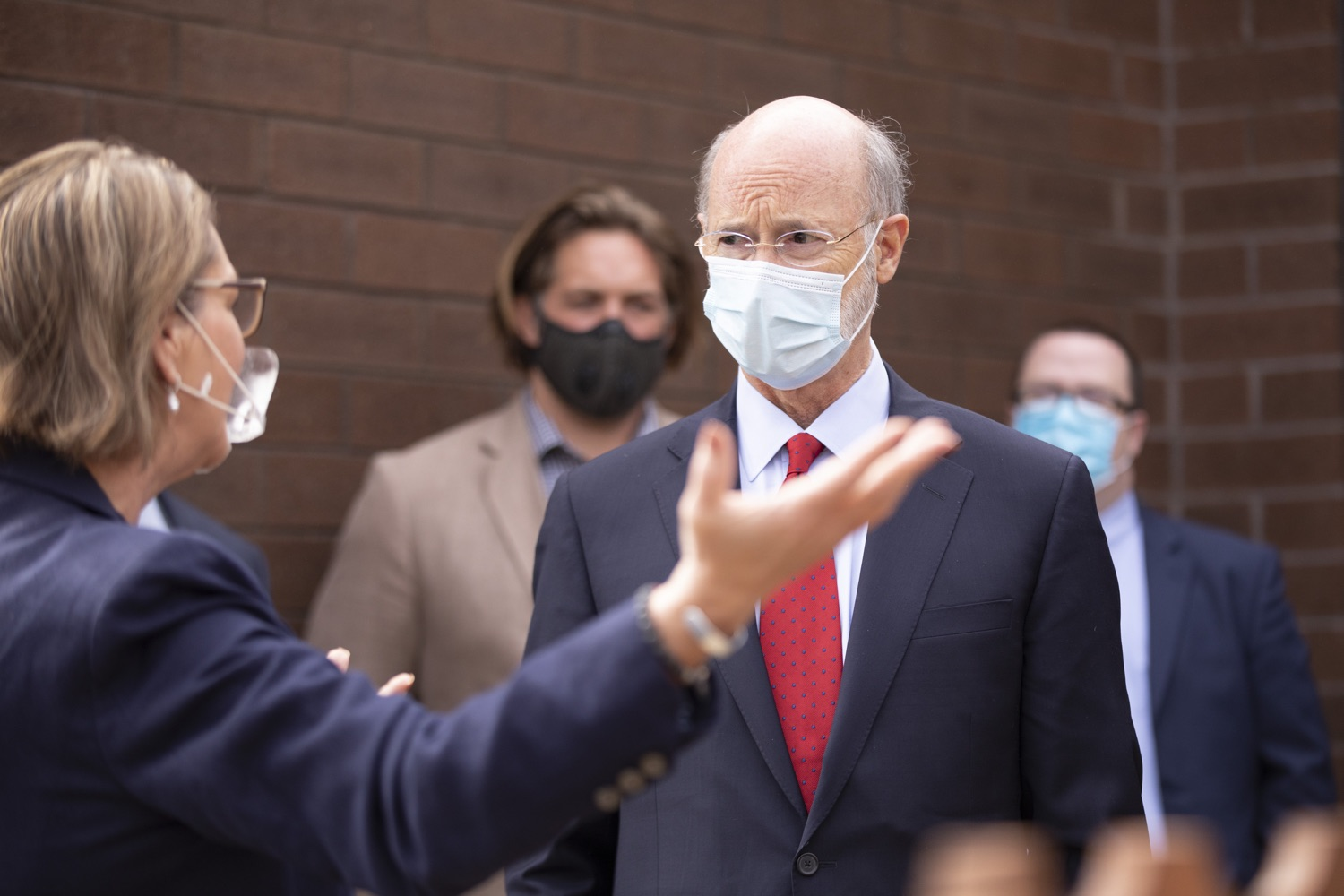 """<a href=""""https://filesource.wostreaming.net/commonwealthofpa/photo/18310_gov_adult_use_cannabis_dz_014.jpg"""" target=""""_blank"""">⇣Download Photo<br></a>Governor Tom Wolf touring The Mountain Center.Governor Tom Wolf visited The Mountain Center in Tobyhanna, Monroe County today to talk about the economic growth potential and restorative justice benefits of legalizing adult-use cannabis, something the state General Assembly has not yet done despite multiple requests from the governor and Lieutenant Governor John Fetterman to take up legislation this fall.  Tobyhanna, PA  October 13, 2020"""