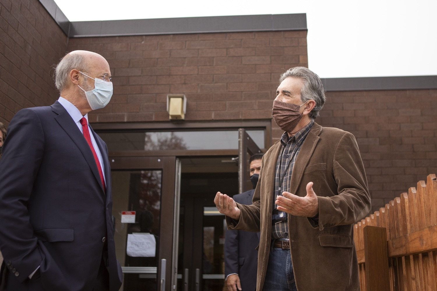 """<a href=""""https://filesource.wostreaming.net/commonwealthofpa/photo/18310_gov_adult_use_cannabis_dz_019.jpg"""" target=""""_blank"""">⇣Download Photo<br></a>Governor Tom Wolf touring The Mountain Center.Governor Tom Wolf visited The Mountain Center in Tobyhanna, Monroe County today to talk about the economic growth potential and restorative justice benefits of legalizing adult-use cannabis, something the state General Assembly has not yet done despite multiple requests from the governor and Lieutenant Governor John Fetterman to take up legislation this fall.  Tobyhanna, PA  October 13, 2020"""