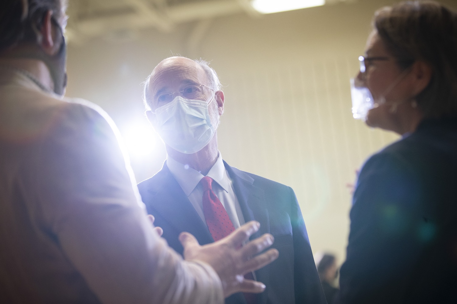 """<a href=""""https://filesource.wostreaming.net/commonwealthofpa/photo/18310_gov_adult_use_cannabis_dz_022.jpg"""" target=""""_blank"""">⇣Download Photo<br></a>Governor Tom Wolf touring The Mountain Center.Governor Tom Wolf visited The Mountain Center in Tobyhanna, Monroe County today to talk about the economic growth potential and restorative justice benefits of legalizing adult-use cannabis, something the state General Assembly has not yet done despite multiple requests from the governor and Lieutenant Governor John Fetterman to take up legislation this fall.  Tobyhanna, PA  October 13, 2020"""