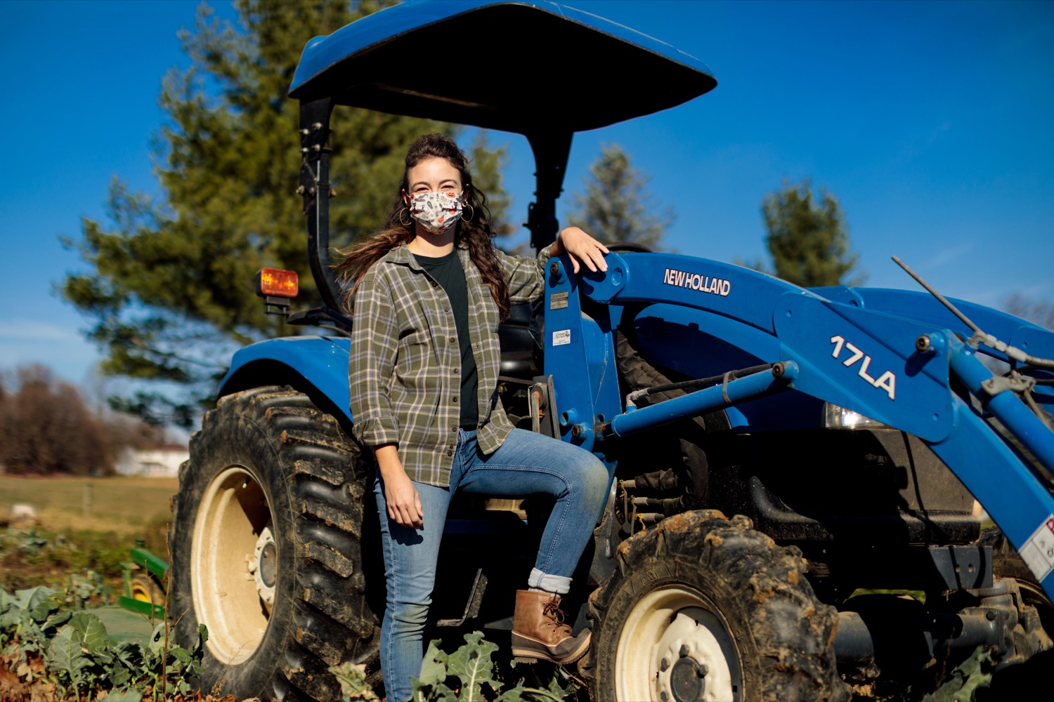 "<a href=""https://filesource.wostreaming.net/commonwealthofpa/photo/18325_AGRIC_Farm_Show_NK_009.jpg"" target=""_blank"">⇣ Download Photo<br></a>Jessi Lee Ross, 30, farm hand with Crooked Row Farm, poses for a photograph on the farm in Orefield on Friday, November 20, 2020."