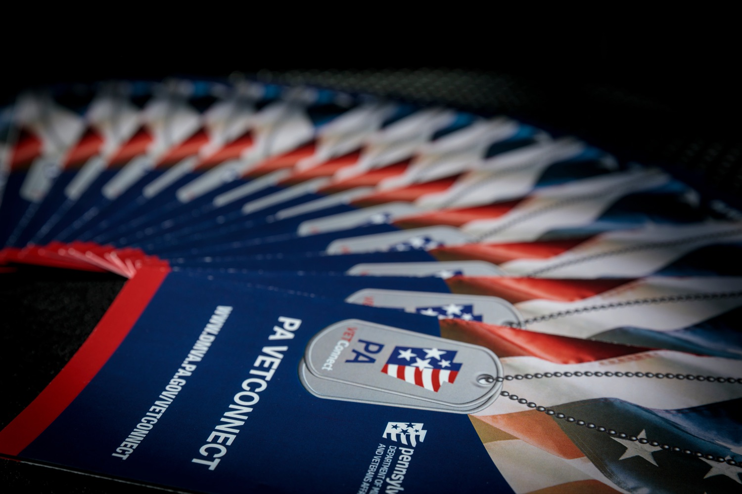 "<a href=""https://filesource.wostreaming.net/commonwealthofpa/photo/18376_DMVA_VET_Connect_NK_008.jpg"" target=""_blank"">⇣ Download Photo<br></a>Brochures are pictured during a press conference announcing the launch of PA VETConnect, a statewide outreach initiative designed to better serve the commonwealths nearly 800,000 veterans, on Monday, November 9, 2020."