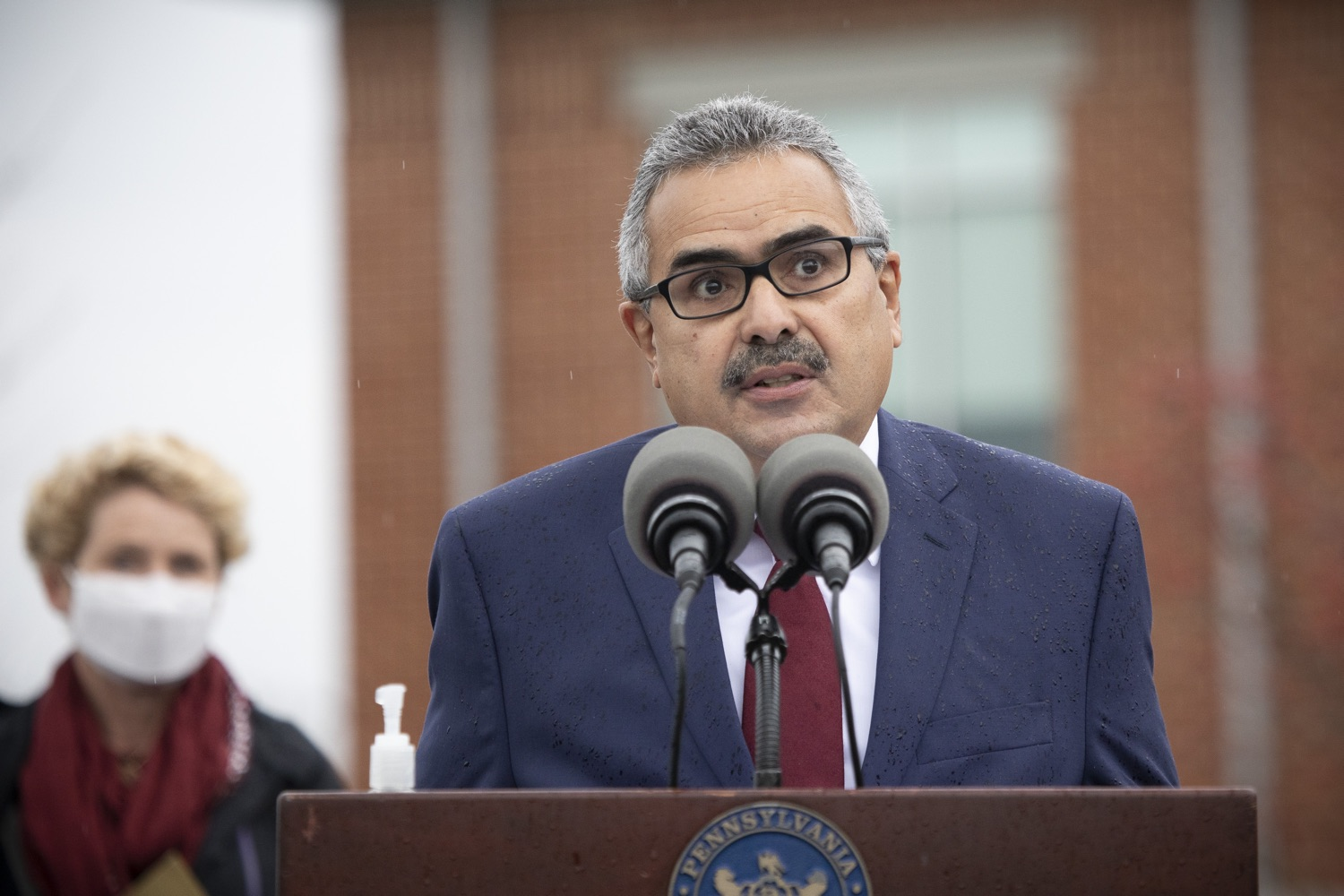 "<a href=""https://filesource.wostreaming.net/commonwealthofpa/photo/18395_doh_title32_dz_018.jpg"" target=""_blank"">⇣ Download Photo<br></a>Secretary of the Department of Aging Robert Torres, speaking to the press.   The Wolf Administration, with the support of U.S. Sen. Bob Casey and U.S. Rep. Chrissy Houlahan, today urged the federal government to reauthorize Title 32 to allow Pennsylvania National Guard members to carry out missions that assist long-term care facilities affected by COVID-19 in Pennsylvania. Harrisburg, PA  November 12, 2020  .."