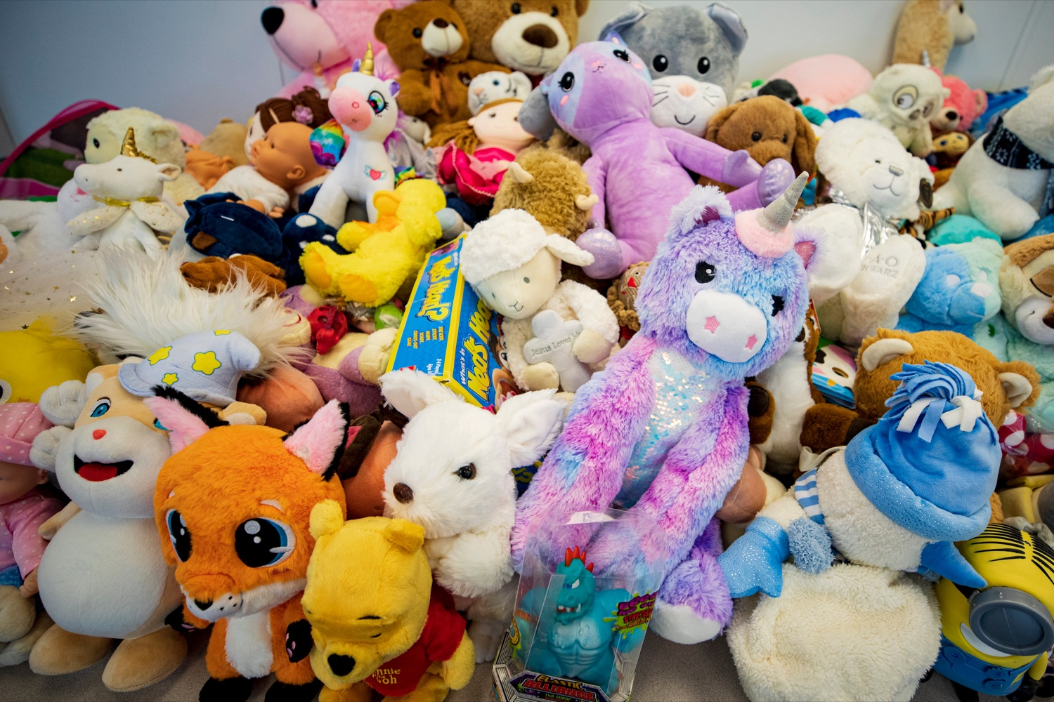 "<a href=""https://filesource.wostreaming.net/commonwealthofpa/photo/18404_LI_Stuffed_Toys_NK_005.jpg"" target=""_blank"">⇣ Download Photo<br></a>Toys to be donated to the Dauphin County Systems of Care and New Life for Girls gift drives, on Wednesday, November 18, 2020."