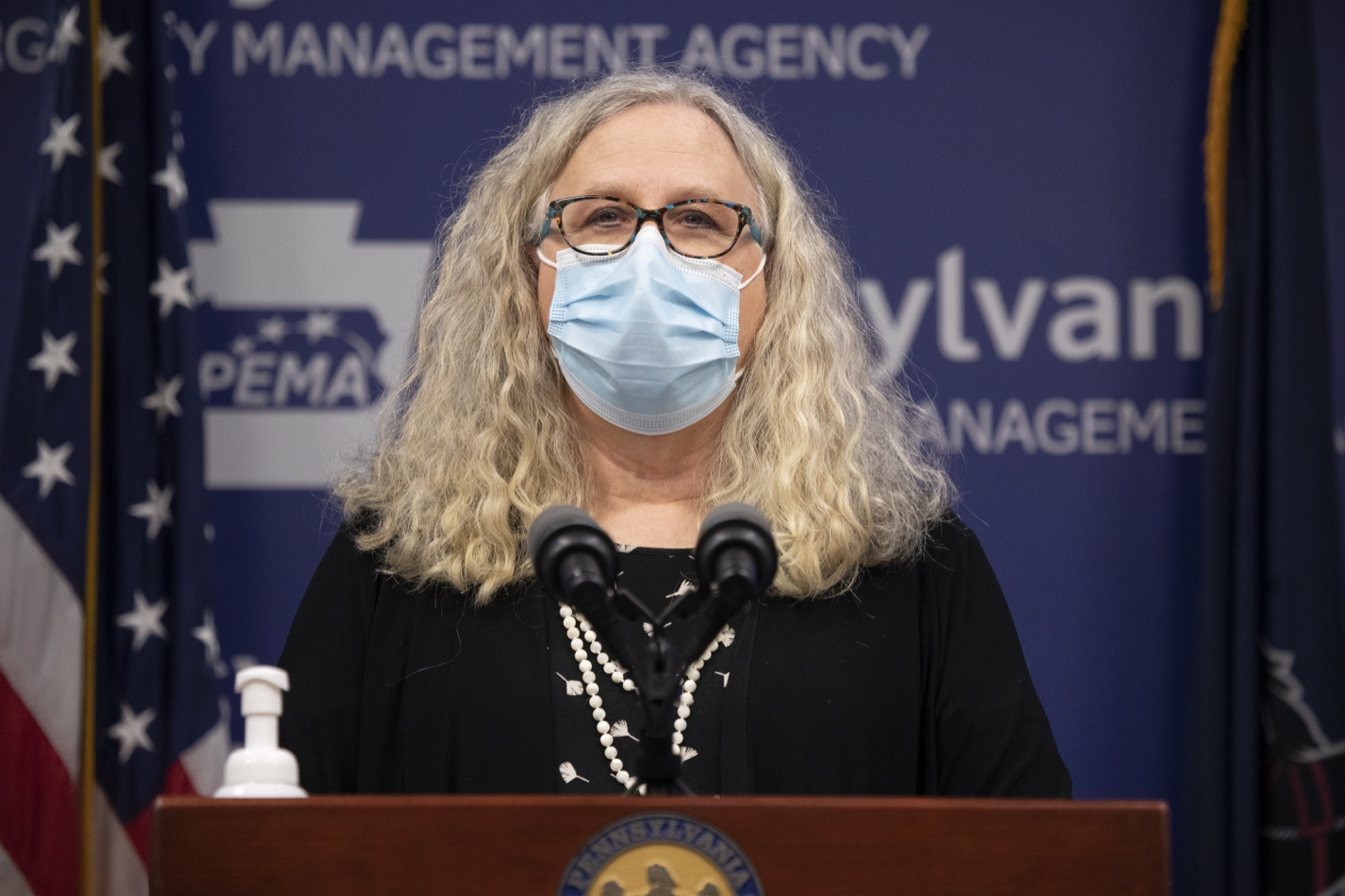 """<a href=""""https://filesource.wostreaming.net/commonwealthofpa/photo/18415_doh_covidUpdate_dz_003.JPG"""" target=""""_blank"""">⇣Download Photo<br></a>Department of Health Secretary Dr. Rachel Levine speaking at the virtual press conference.  Secretary of Health Dr. Rachel Levine and Acting Secretary of Education Noe Ortega today announced that, with parental or guardian permission, Pennsylvanians age 13 to 17 can now add their phone to the fight and download the COVID Alert PA app to help stop the spread of COVID-19.  Harrisburg, PA  November 30, 2020"""
