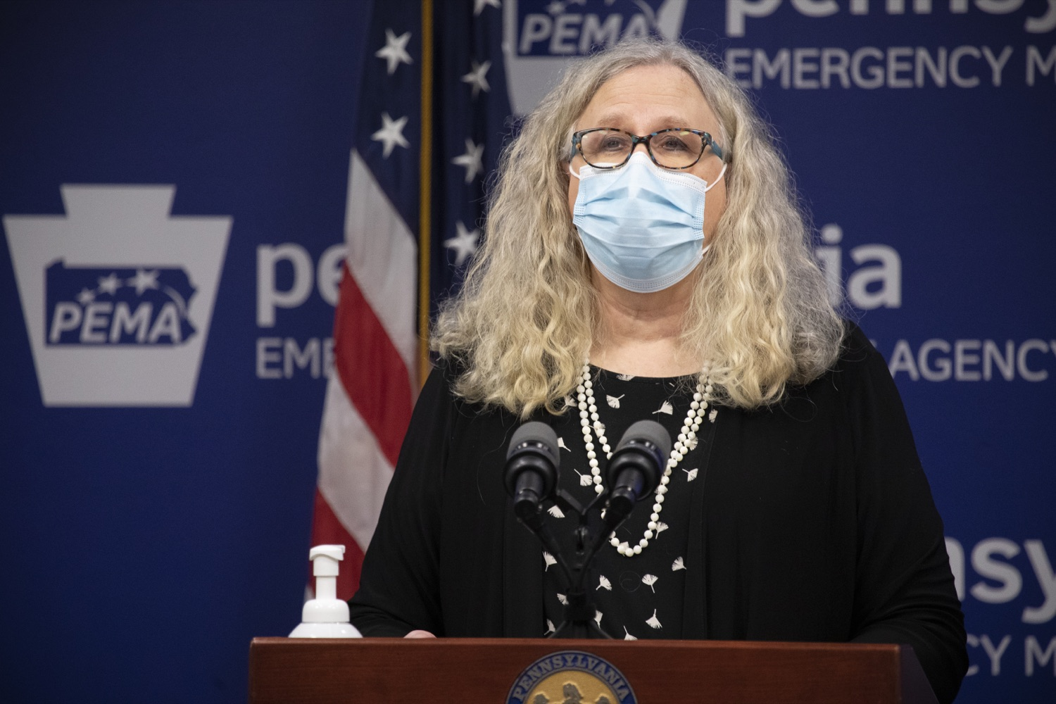 """<a href=""""https://filesource.wostreaming.net/commonwealthofpa/photo/18415_doh_covidUpdate_dz_013.JPG"""" target=""""_blank"""">⇣Download Photo<br></a>Department of Health Secretary Dr. Rachel Levine speaking at the virtual press conference.  Secretary of Health Dr. Rachel Levine and Acting Secretary of Education Noe Ortega today announced that, with parental or guardian permission, Pennsylvanians age 13 to 17 can now add their phone to the fight and download the COVID Alert PA app to help stop the spread of COVID-19.  Harrisburg, PA  November 30, 2020"""