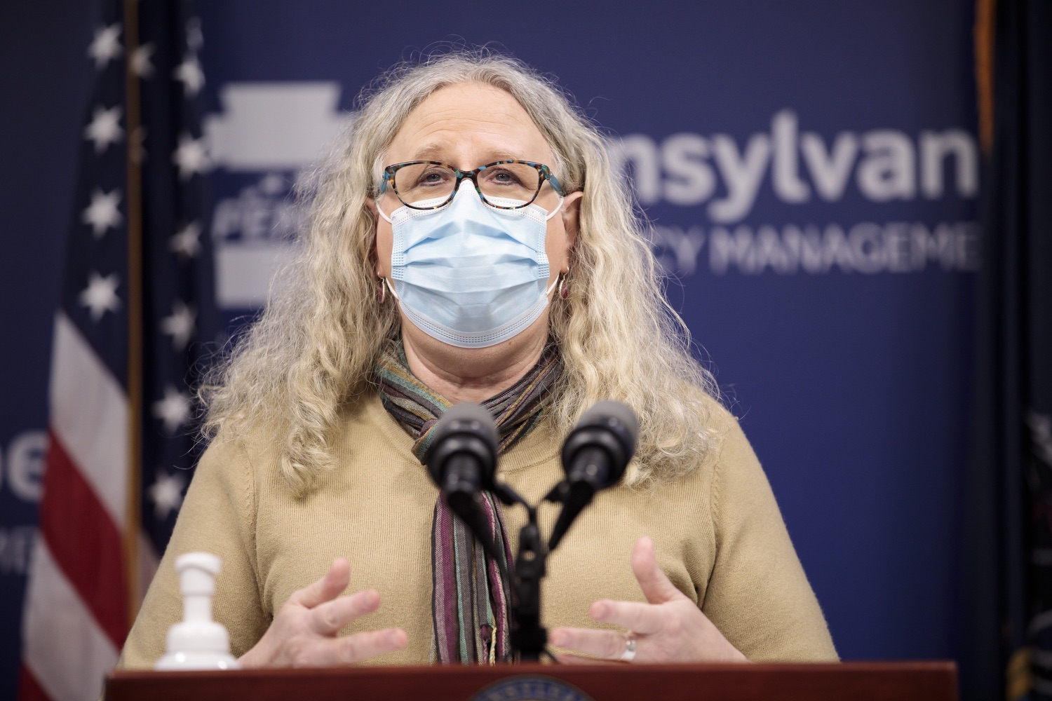 """<a href=""""https://filesource.wostreaming.net/commonwealthofpa/photo/18461_doh_covidUpdate_dz_05.jpg"""" target=""""_blank"""">⇣Download Photo<br></a>Department of Health Secretary Dr. Rachel Levine speaks at the virtual media briefing.  The Pennsylvania Department of Health today confirmed as of 12:00 a.m., January 4, that there were 3,226 additional positive cases of COVID-19, in addition to 4,579 new cases reported Sunday, January 3 for a two-day total of 8,992 additional positive cases of COVID-19, bringing the statewide total to 665,097. The case counts today are atypically low as a result of technical maintenance to the data server on Sunday. This technical maintenance did not impact the death reporting system on Sunday or Monday as the death data comes from a different server. Harrisburg, PA  January 04, 2021"""