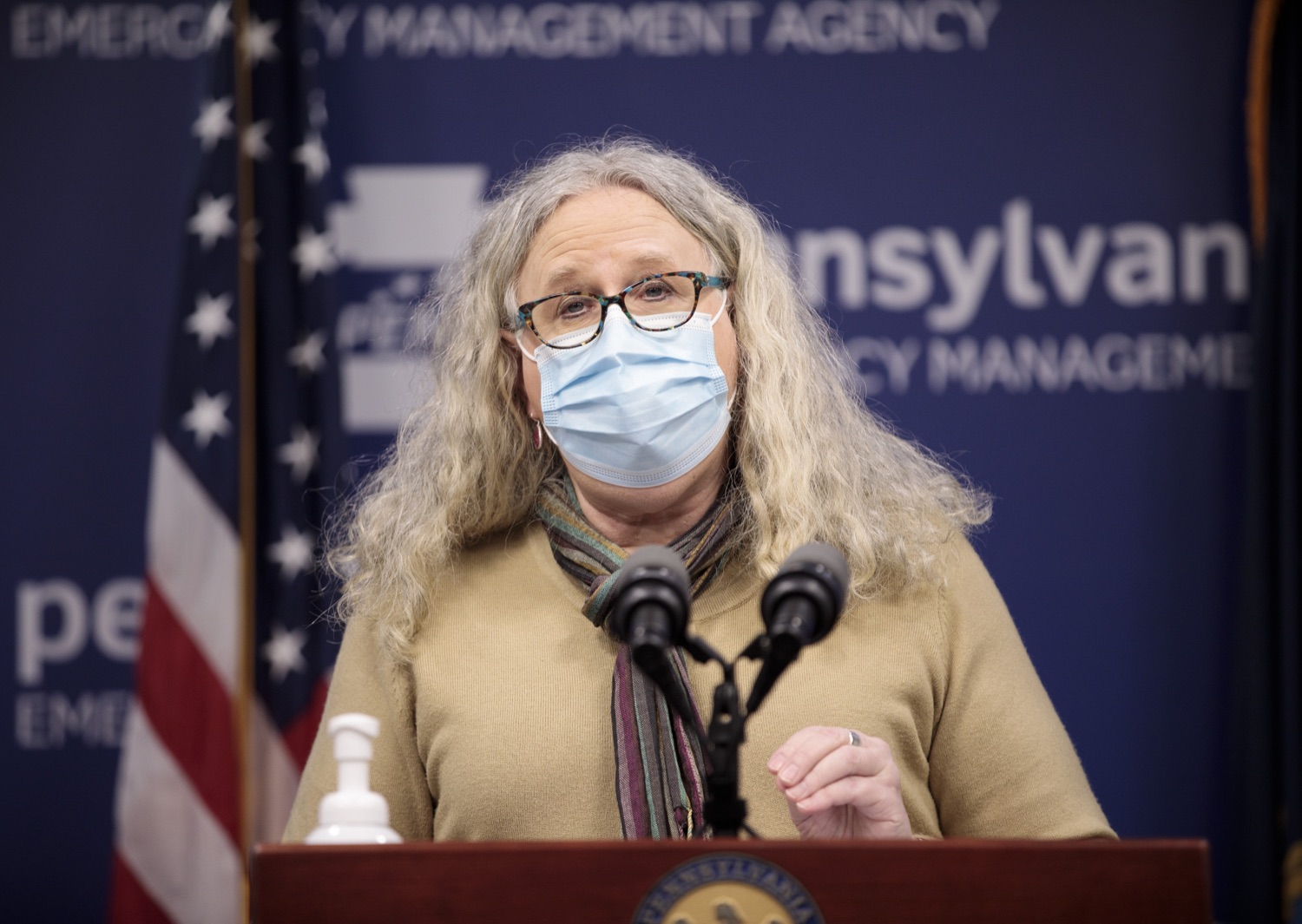 """<a href=""""https://filesource.wostreaming.net/commonwealthofpa/photo/18461_doh_covidUpdate_dz_10.jpg"""" target=""""_blank"""">⇣Download Photo<br></a>Department of Health Secretary Dr. Rachel Levine speaks at the virtual media briefing.  The Pennsylvania Department of Health today confirmed as of 12:00 a.m., January 4, that there were 3,226 additional positive cases of COVID-19, in addition to 4,579 new cases reported Sunday, January 3 for a two-day total of 8,992 additional positive cases of COVID-19, bringing the statewide total to 665,097. The case counts today are atypically low as a result of technical maintenance to the data server on Sunday. This technical maintenance did not impact the death reporting system on Sunday or Monday as the death data comes from a different server. Harrisburg, PA  January 04, 2021"""