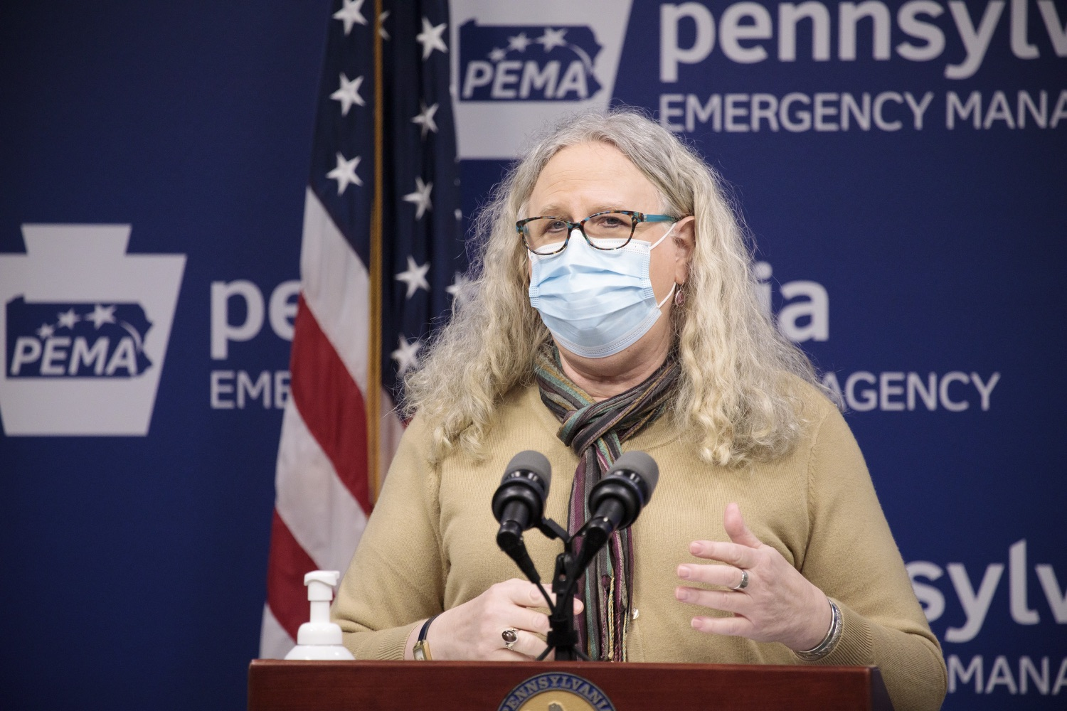 """<a href=""""https://filesource.wostreaming.net/commonwealthofpa/photo/18461_doh_covidUpdate_dz_12.jpg"""" target=""""_blank"""">⇣Download Photo<br></a>Department of Health Secretary Dr. Rachel Levine speaks at the virtual media briefing.  The Pennsylvania Department of Health today confirmed as of 12:00 a.m., January 4, that there were 3,226 additional positive cases of COVID-19, in addition to 4,579 new cases reported Sunday, January 3 for a two-day total of 8,992 additional positive cases of COVID-19, bringing the statewide total to 665,097. The case counts today are atypically low as a result of technical maintenance to the data server on Sunday. This technical maintenance did not impact the death reporting system on Sunday or Monday as the death data comes from a different server. Harrisburg, PA  January 04, 2021"""