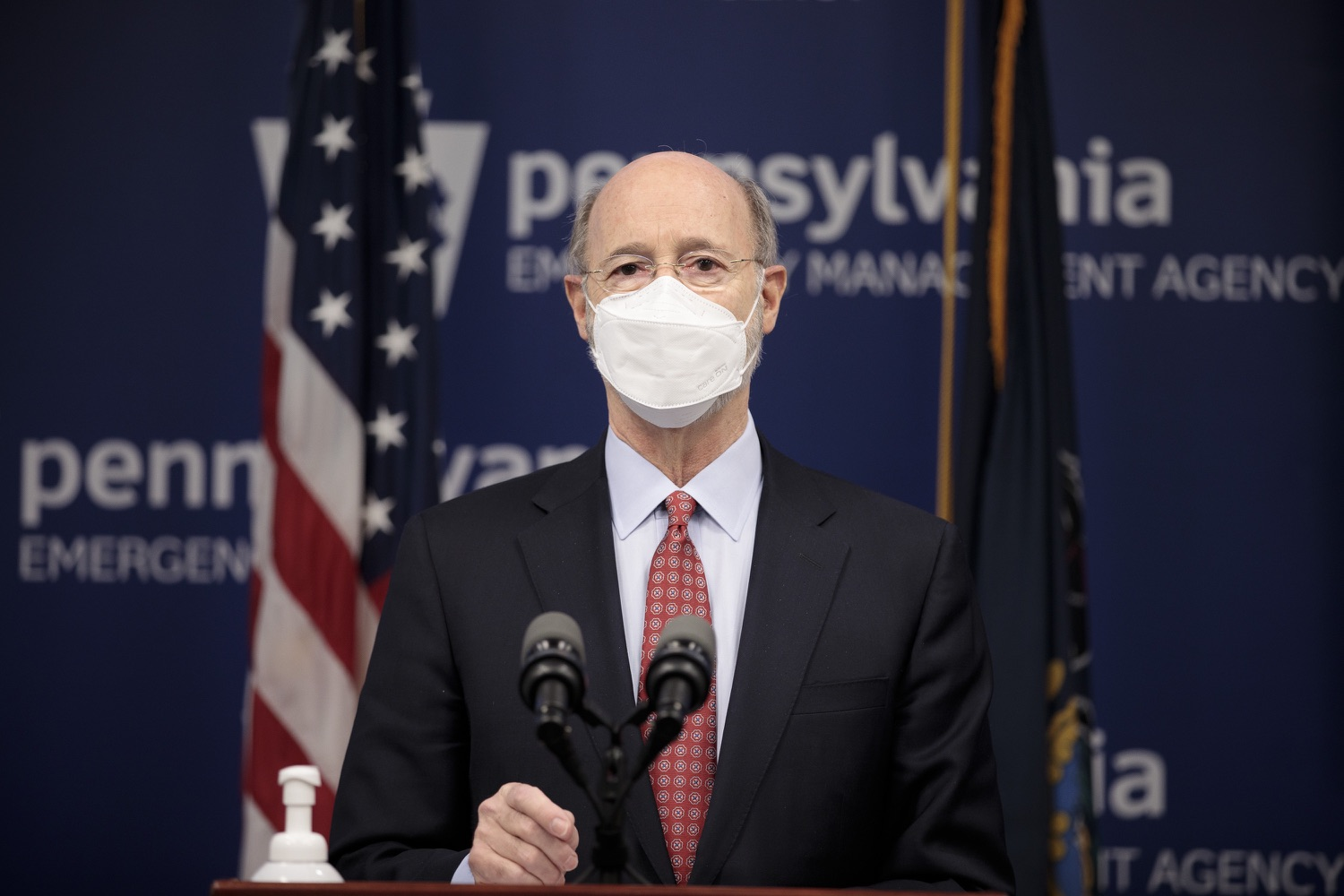 "<a href=""https://filesource.wostreaming.net/commonwealthofpa/photo/18535_gov_nellie_bly_dz_02.jpg"" target=""_blank"">⇣ Download Photo<br></a>Pennsylvania Governor Tom Wolf speaking at the press conference.  Governor Tom Wolf wants to bet on 44,000 students to help them earn a college degree while graduating with less debt and building successful lives in Pennsylvania. Today, the governor held a press conference to discuss how his historic Nellie Bly Scholarship Program would provide need-based financial assistance for students at 14 universities in the states system. Harrisburg, PA  February 17, 2021"
