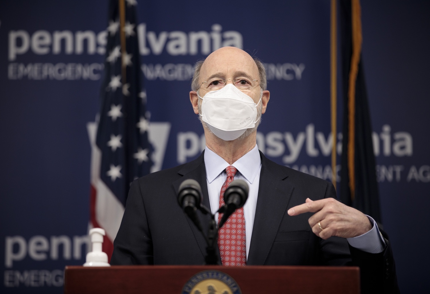 "<a href=""https://filesource.wostreaming.net/commonwealthofpa/photo/18535_gov_nellie_bly_dz_08.jpg"" target=""_blank"">⇣ Download Photo<br></a>Pennsylvania Governor Tom Wolf speaking at the press conference.  Governor Tom Wolf wants to bet on 44,000 students to help them earn a college degree while graduating with less debt and building successful lives in Pennsylvania. Today, the governor held a press conference to discuss how his historic Nellie Bly Scholarship Program would provide need-based financial assistance for students at 14 universities in the states system. Harrisburg, PA  February 17, 2021"