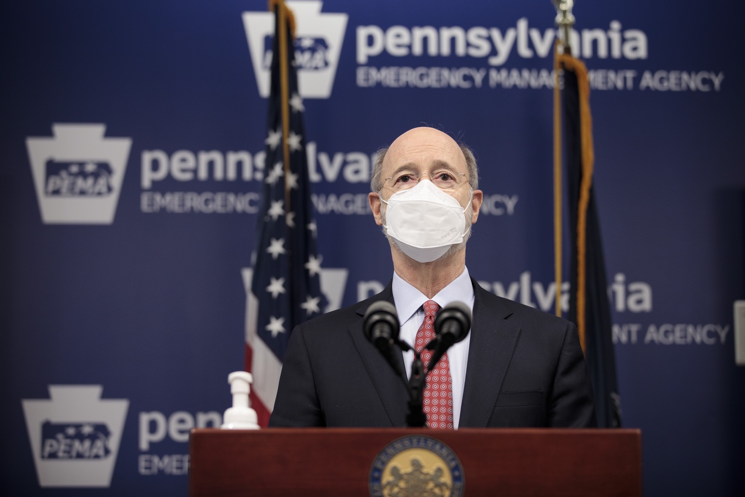 "<a href=""https://filesource.wostreaming.net/commonwealthofpa/photo/18535_gov_nellie_bly_dz_10.jpg"" target=""_blank"">⇣ Download Photo<br></a>Pennsylvania Governor Tom Wolf speaking at the press conference.  Governor Tom Wolf wants to bet on 44,000 students to help them earn a college degree while graduating with less debt and building successful lives in Pennsylvania. Today, the governor held a press conference to discuss how his historic Nellie Bly Scholarship Program would provide need-based financial assistance for students at 14 universities in the states system. Harrisburg, PA  February 17, 2021"