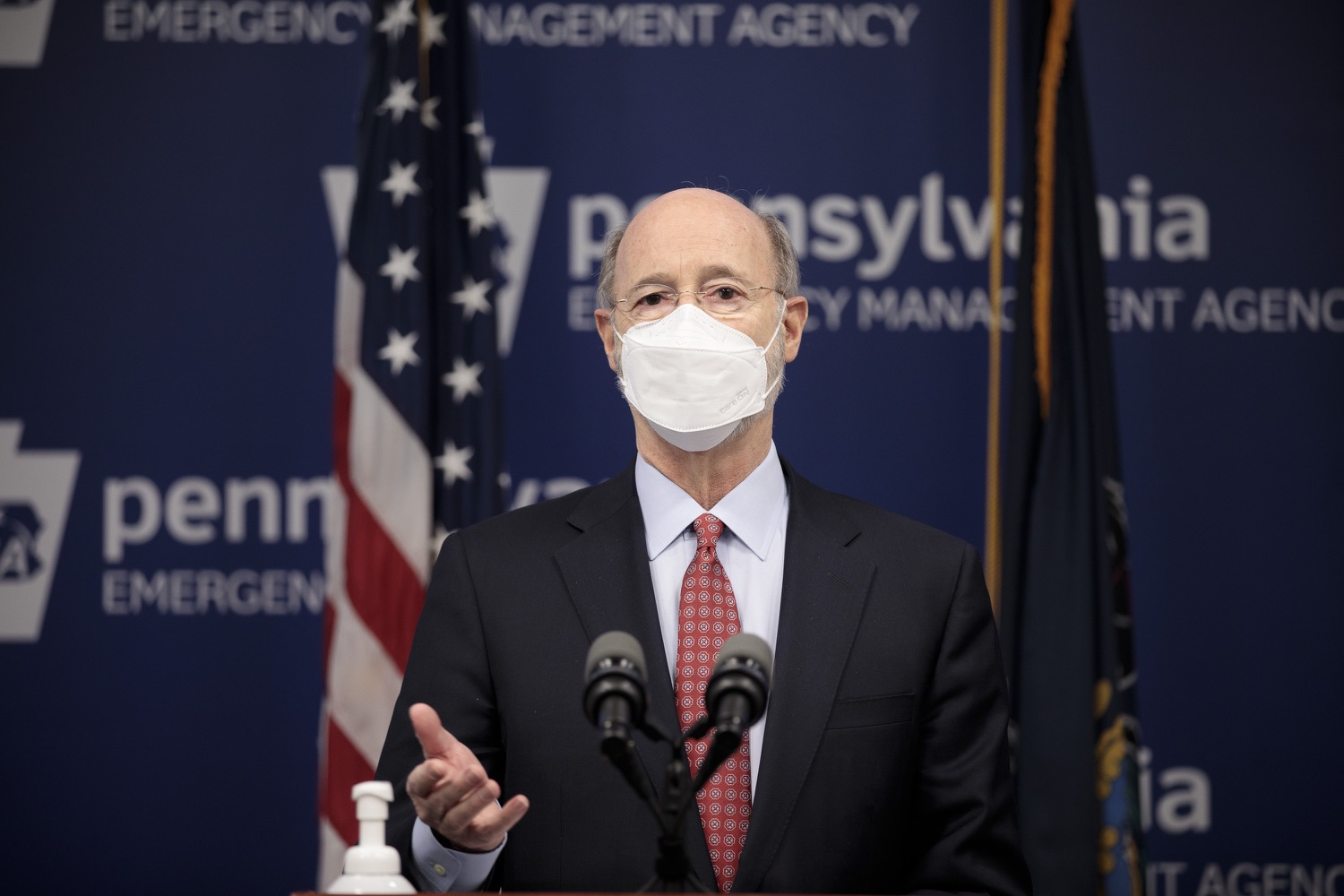 "<a href=""https://filesource.wostreaming.net/commonwealthofpa/photo/18535_gov_nellie_bly_dz_11.jpg"" target=""_blank"">⇣ Download Photo<br></a>Pennsylvania Governor Tom Wolf speaking at the press conference.  Governor Tom Wolf wants to bet on 44,000 students to help them earn a college degree while graduating with less debt and building successful lives in Pennsylvania. Today, the governor held a press conference to discuss how his historic Nellie Bly Scholarship Program would provide need-based financial assistance for students at 14 universities in the states system. Harrisburg, PA  February 17, 2021"