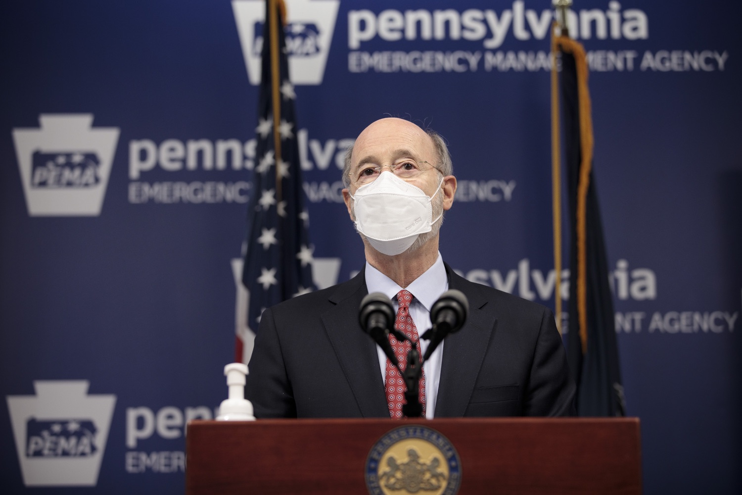 "<a href=""https://filesource.wostreaming.net/commonwealthofpa/photo/18535_gov_nellie_bly_dz_12.jpg"" target=""_blank"">⇣ Download Photo<br></a>Pennsylvania Governor Tom Wolf speaking at the press conference.  Governor Tom Wolf wants to bet on 44,000 students to help them earn a college degree while graduating with less debt and building successful lives in Pennsylvania. Today, the governor held a press conference to discuss how his historic Nellie Bly Scholarship Program would provide need-based financial assistance for students at 14 universities in the states system. Harrisburg, PA  February 17, 2021"