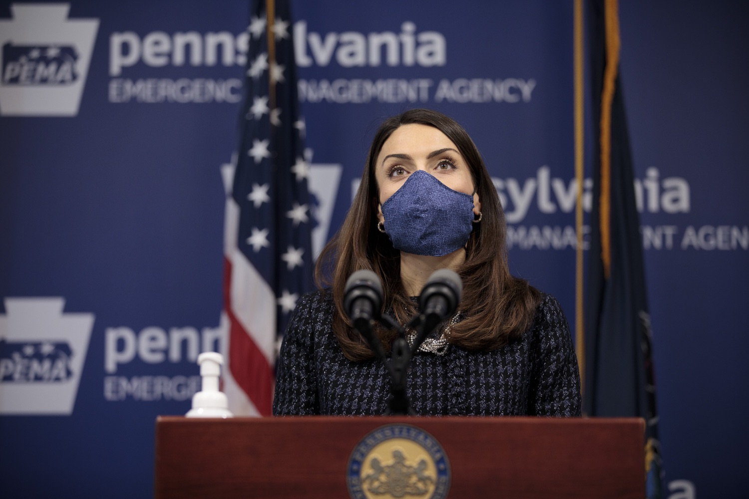 "<a href=""https://filesource.wostreaming.net/commonwealthofpa/photo/18537_doh_covid_dz_06.jpg"" target=""_blank"">⇣ Download Photo<br></a>Department of Health Acting Secretary Alison Beam speaks at the press conference.  The Pennsylvania Department of Health and the newly formed joint task force with the legislature today reaffirmed their commitment to ensuring that Pennsylvanians will have access to second doses of COVID-19 vaccine within the CDC-recommended timeframe of up to 42 days after the first dose. Harrisburg, PA  February 17, 2021"