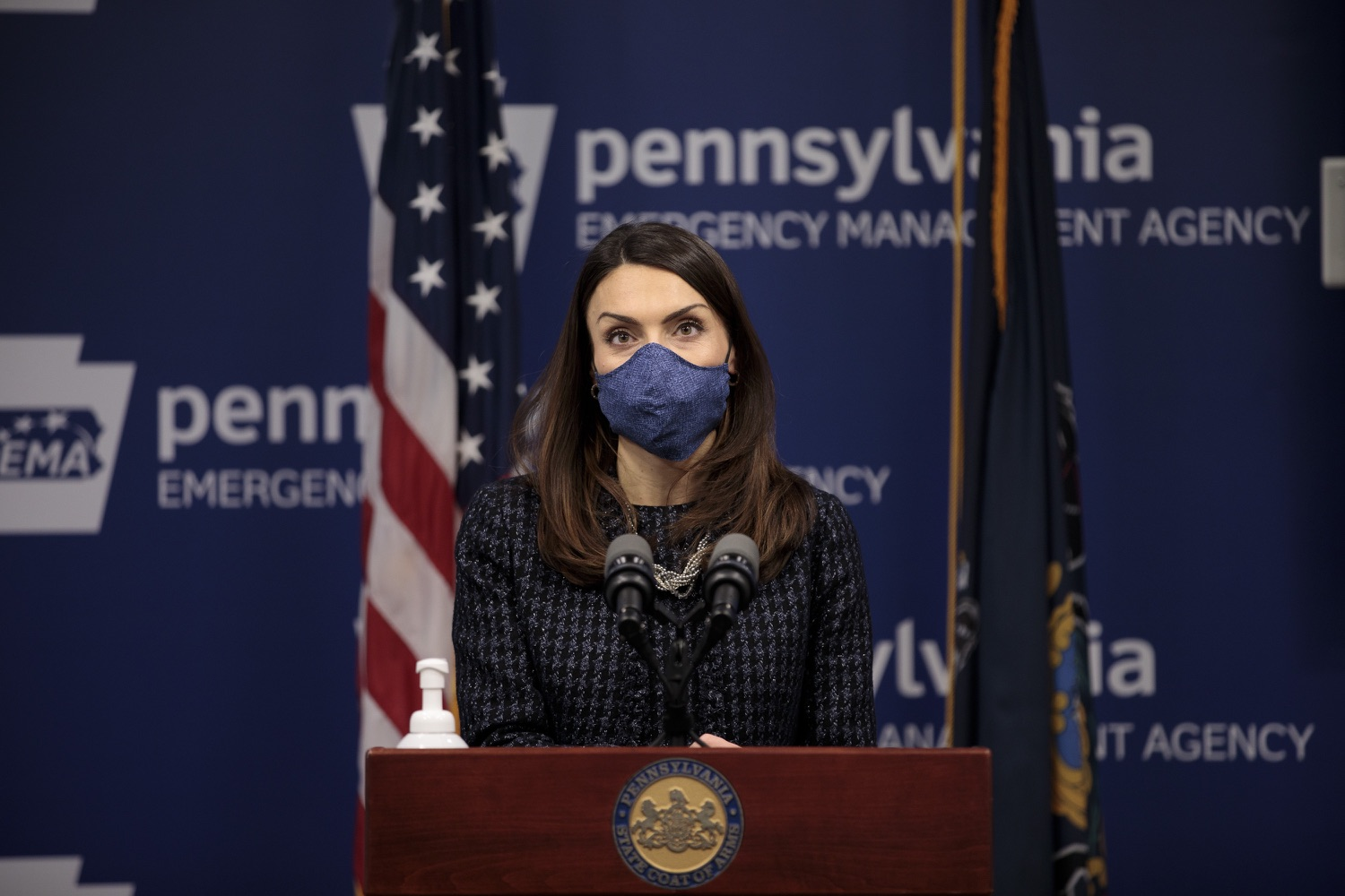 "<a href=""https://filesource.wostreaming.net/commonwealthofpa/photo/18537_doh_covid_dz_08.jpg"" target=""_blank"">⇣ Download Photo<br></a>Department of Health Acting Secretary Alison Beam speaks at the press conference.  The Pennsylvania Department of Health and the newly formed joint task force with the legislature today reaffirmed their commitment to ensuring that Pennsylvanians will have access to second doses of COVID-19 vaccine within the CDC-recommended timeframe of up to 42 days after the first dose. Harrisburg, PA  February 17, 2021"