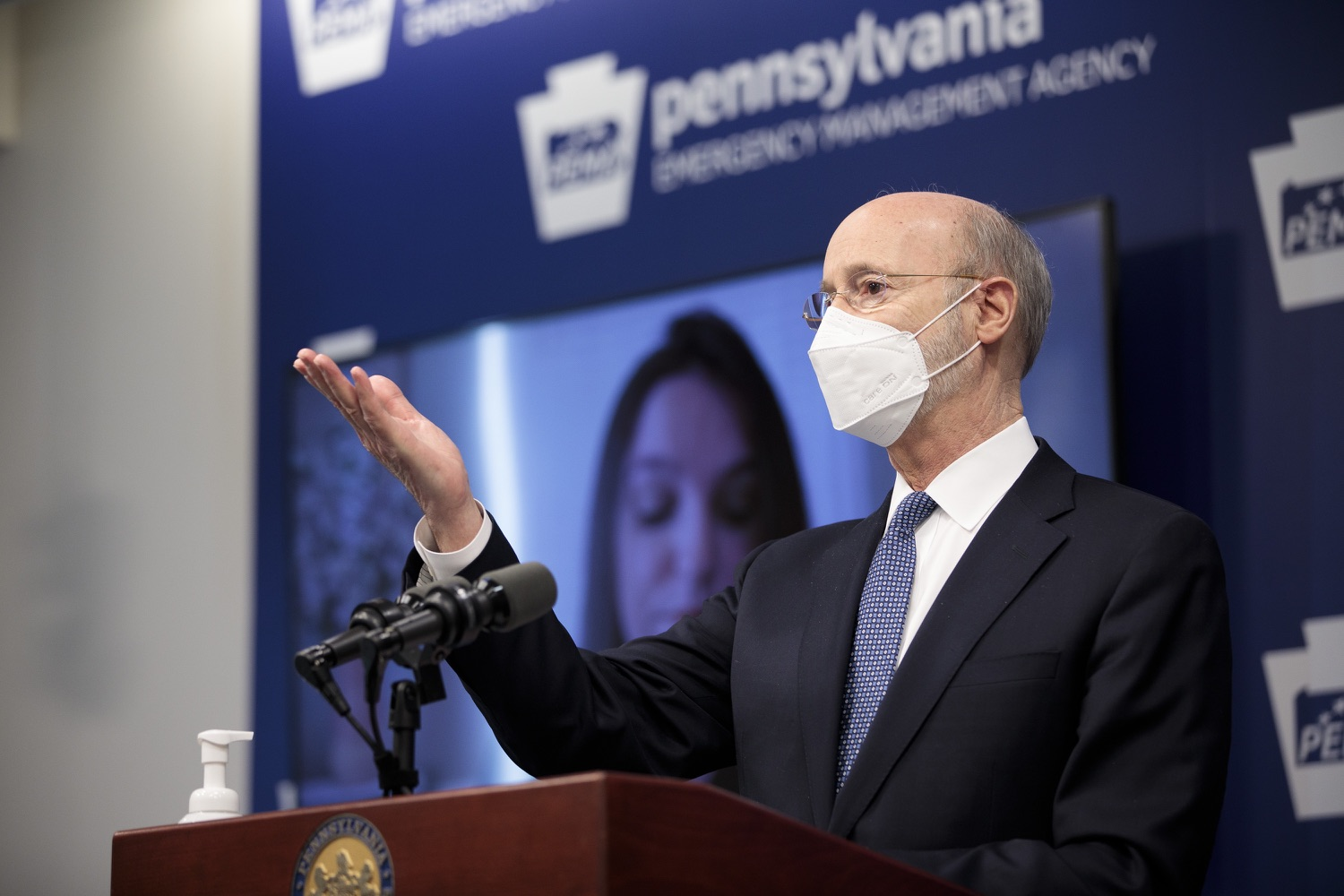 "<a href=""https://filesource.wostreaming.net/commonwealthofpa/photo/18551_gov_charterReform_dz_01.jpg"" target=""_blank"">⇣ Download Photo<br></a>Pennsylvania Governor Tom Wolf speaks to the press.  The urgent need to hold charter schools and cyber charter schools accountable has increased as enrollment and taxpayer costs have swelled during the COVID-19 pandemic. Governor Tom Wolf today unveiled a common sense and fair bipartisan plan that protects students, parents and taxpayers. The plan holds low-performing charter schools accountable to improve the quality of education, protects taxpayers by reining in skyrocketing charter school costs and increases the transparency of for-profit companies that run many charter schools. Harrisburg, PA  February 26, 2021"