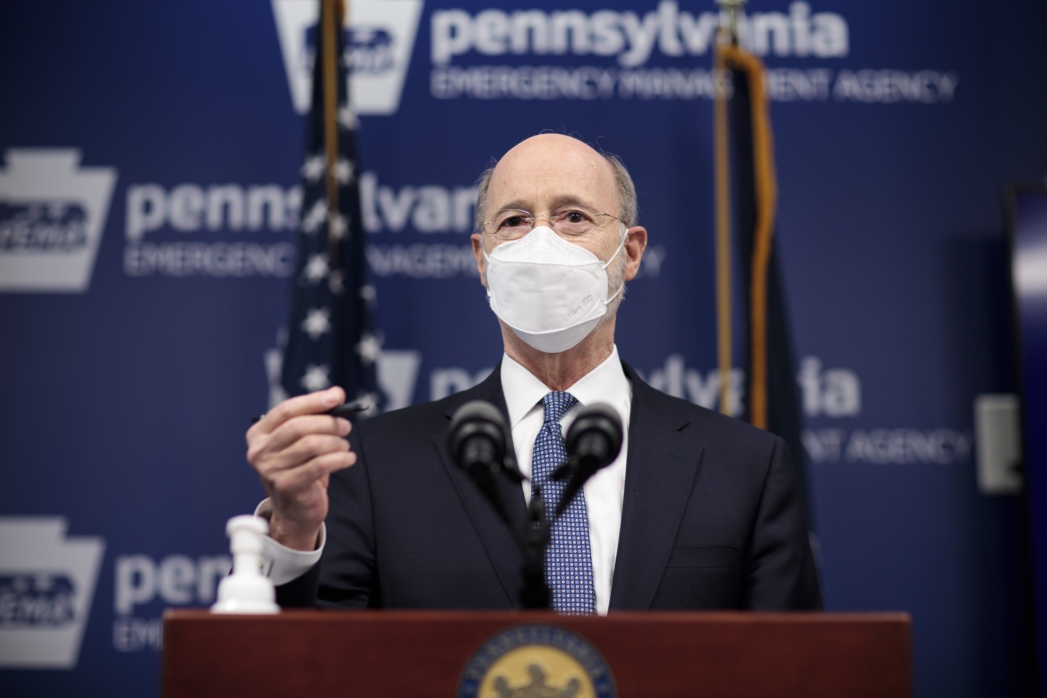 "<a href=""https://filesource.wostreaming.net/commonwealthofpa/photo/18551_gov_charterReform_dz_02.jpg"" target=""_blank"">⇣ Download Photo<br></a>Pennsylvania Governor Tom Wolf speaks to the press.  The urgent need to hold charter schools and cyber charter schools accountable has increased as enrollment and taxpayer costs have swelled during the COVID-19 pandemic. Governor Tom Wolf today unveiled a common sense and fair bipartisan plan that protects students, parents and taxpayers. The plan holds low-performing charter schools accountable to improve the quality of education, protects taxpayers by reining in skyrocketing charter school costs and increases the transparency of for-profit companies that run many charter schools. Harrisburg, PA  February 26, 2021"