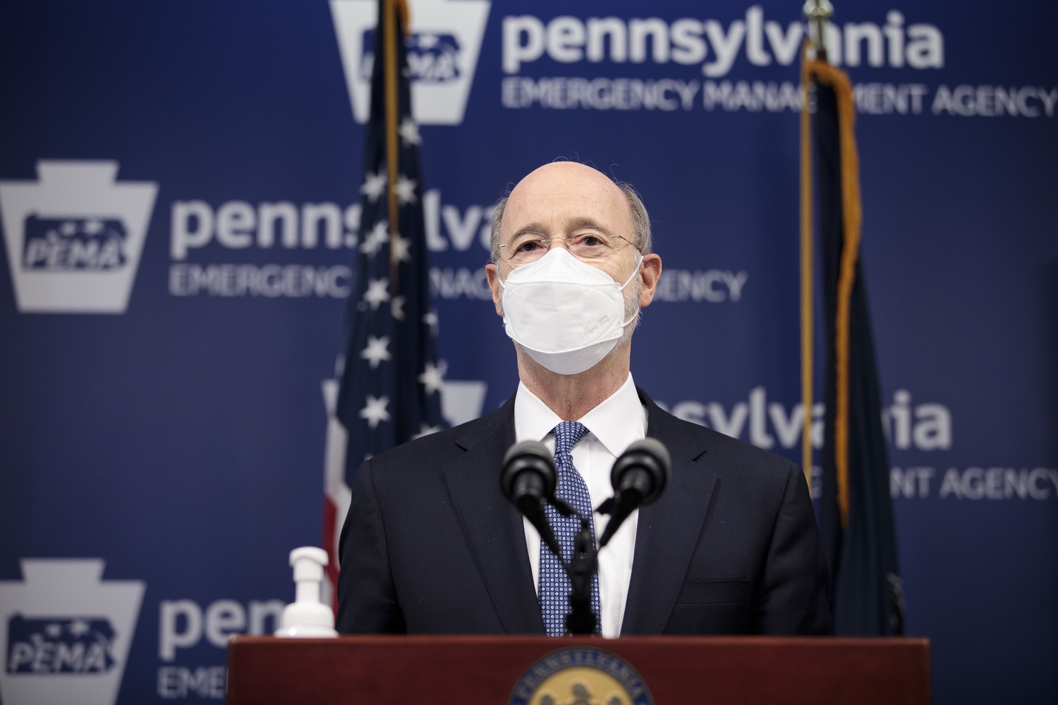 "<a href=""https://filesource.wostreaming.net/commonwealthofpa/photo/18551_gov_charterReform_dz_06.jpg"" target=""_blank"">⇣ Download Photo<br></a>Pennsylvania Governor Tom Wolf speaks to the press.  The urgent need to hold charter schools and cyber charter schools accountable has increased as enrollment and taxpayer costs have swelled during the COVID-19 pandemic. Governor Tom Wolf today unveiled a common sense and fair bipartisan plan that protects students, parents and taxpayers. The plan holds low-performing charter schools accountable to improve the quality of education, protects taxpayers by reining in skyrocketing charter school costs and increases the transparency of for-profit companies that run many charter schools. Harrisburg, PA  February 26, 2021"