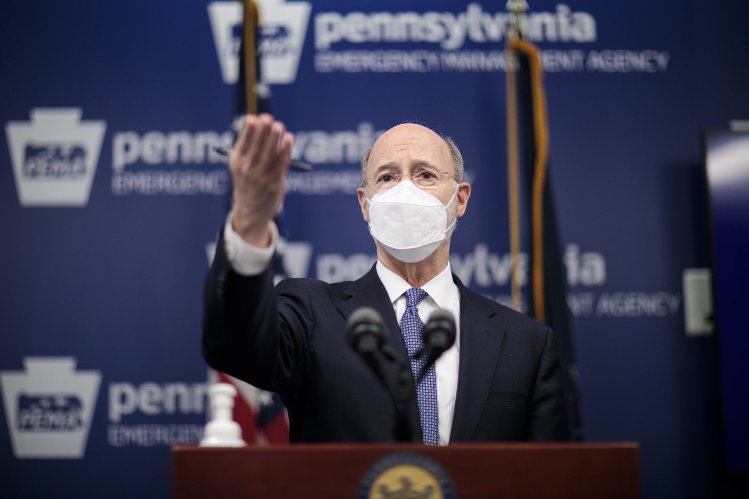 "<a href=""https://filesource.wostreaming.net/commonwealthofpa/photo/18551_gov_charterReform_dz_10.jpg"" target=""_blank"">⇣ Download Photo<br></a>Pennsylvania Governor Tom Wolf speaks to the press.  The urgent need to hold charter schools and cyber charter schools accountable has increased as enrollment and taxpayer costs have swelled during the COVID-19 pandemic. Governor Tom Wolf today unveiled a common sense and fair bipartisan plan that protects students, parents and taxpayers. The plan holds low-performing charter schools accountable to improve the quality of education, protects taxpayers by reining in skyrocketing charter school costs and increases the transparency of for-profit companies that run many charter schools. Harrisburg, PA  February 26, 2021"