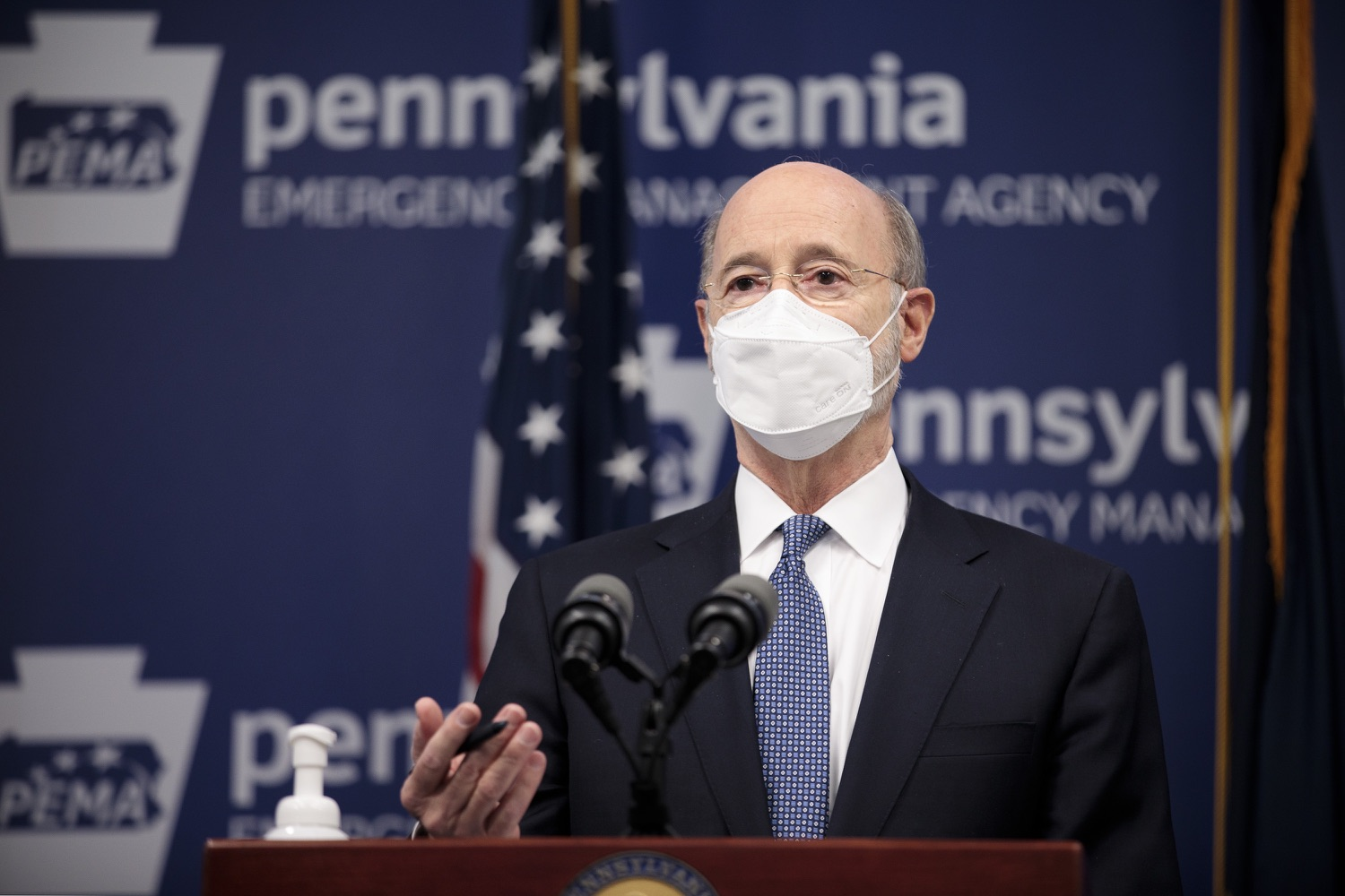 "<a href=""https://filesource.wostreaming.net/commonwealthofpa/photo/18551_gov_charterReform_dz_14.jpg"" target=""_blank"">⇣ Download Photo<br></a>Pennsylvania Governor Tom Wolf speaks to the press.  The urgent need to hold charter schools and cyber charter schools accountable has increased as enrollment and taxpayer costs have swelled during the COVID-19 pandemic. Governor Tom Wolf today unveiled a common sense and fair bipartisan plan that protects students, parents and taxpayers. The plan holds low-performing charter schools accountable to improve the quality of education, protects taxpayers by reining in skyrocketing charter school costs and increases the transparency of for-profit companies that run many charter schools. Harrisburg, PA  February 26, 2021"