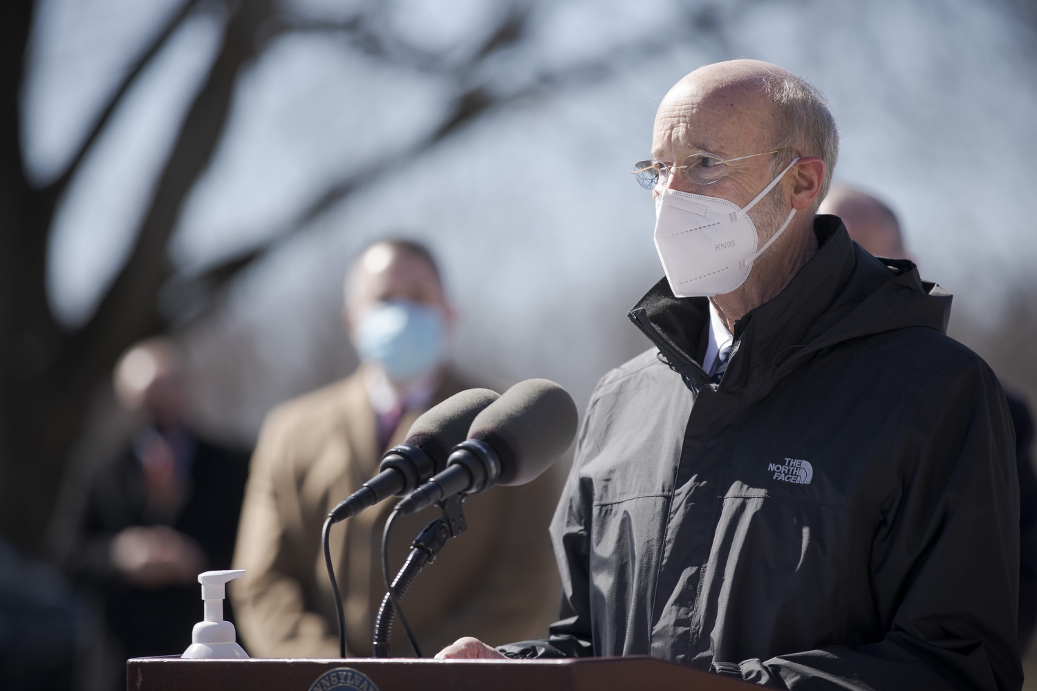 "<a href=""https://filesource.wostreaming.net/commonwealthofpa/photo/18560_gov_chirp_dz_06.jpg"" target=""_blank"">⇣ Download Photo<br></a>Pennsylvania Governor Tom Wolf answers questions from the press.  Governor Tom Wolf announced today that the hospitality industry will soon be able to apply for immediate relief through the COVID-19 Hospitality Industry Recovery Program (CHIRP), a new grant program established by the Wolf Administration to support local businesses in the hospitality industry that were affected by the COVID-19 pandemic. Harrisburg, PA  March 2, 2021. .."