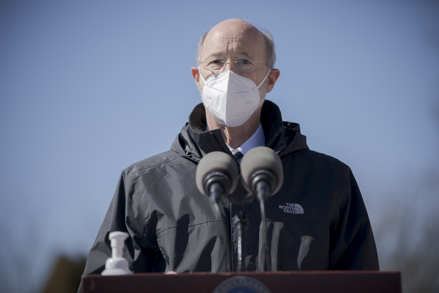 "<a href=""https://filesource.wostreaming.net/commonwealthofpa/photo/18560_gov_chirp_dz_07.jpg"" target=""_blank"">⇣ Download Photo<br></a>Pennsylvania Governor Tom Wolf answers questions from the press.  Governor Tom Wolf announced today that the hospitality industry will soon be able to apply for immediate relief through the COVID-19 Hospitality Industry Recovery Program (CHIRP), a new grant program established by the Wolf Administration to support local businesses in the hospitality industry that were affected by the COVID-19 pandemic. Harrisburg, PA  March 2, 2021. .."
