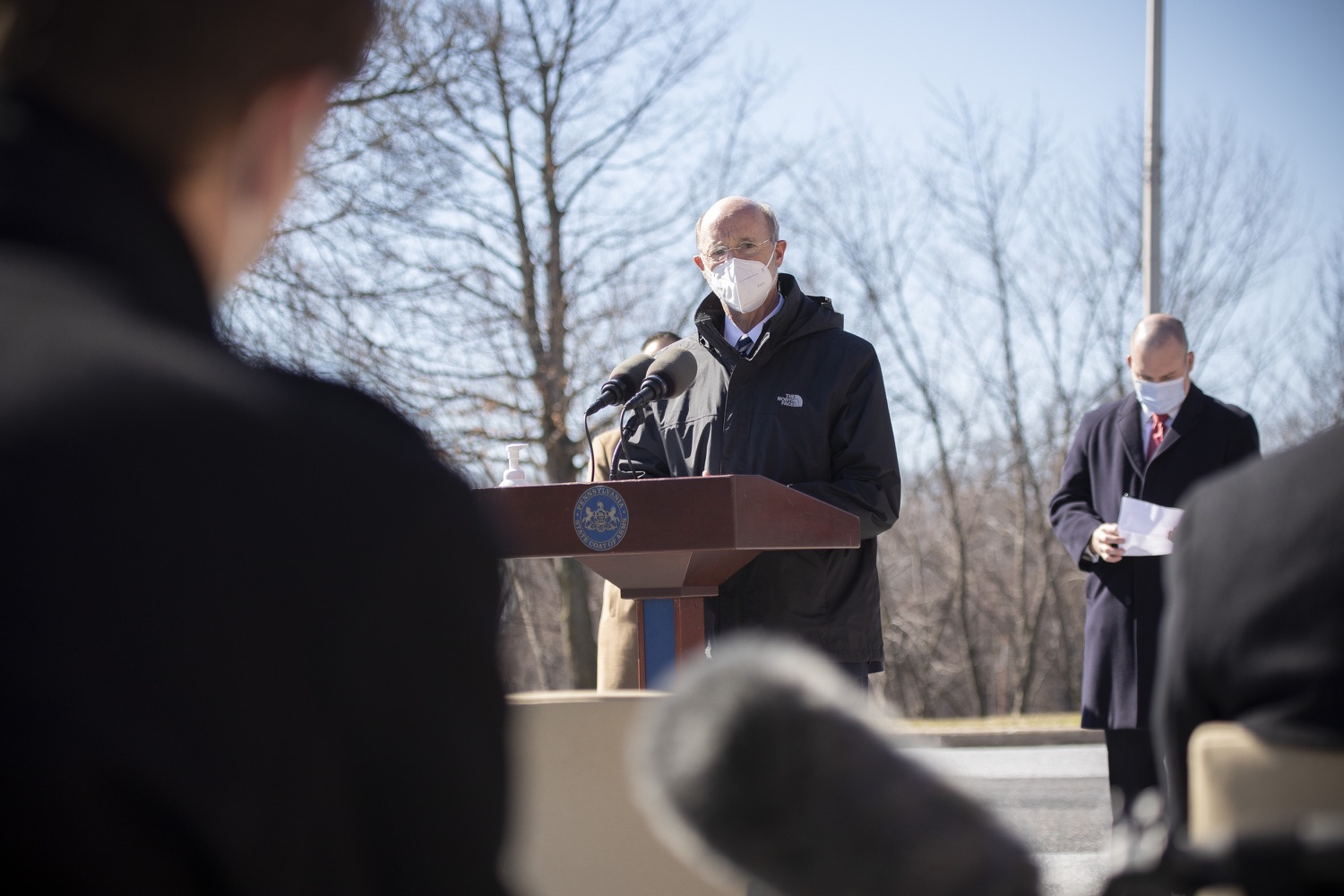 "<a href=""https://filesource.wostreaming.net/commonwealthofpa/photo/18560_gov_chirp_dz_09.jpg"" target=""_blank"">⇣ Download Photo<br></a>Pennsylvania Governor Tom Wolf answers questions from the press.  Governor Tom Wolf announced today that the hospitality industry will soon be able to apply for immediate relief through the COVID-19 Hospitality Industry Recovery Program (CHIRP), a new grant program established by the Wolf Administration to support local businesses in the hospitality industry that were affected by the COVID-19 pandemic. Harrisburg, PA  March 2, 2021. .."