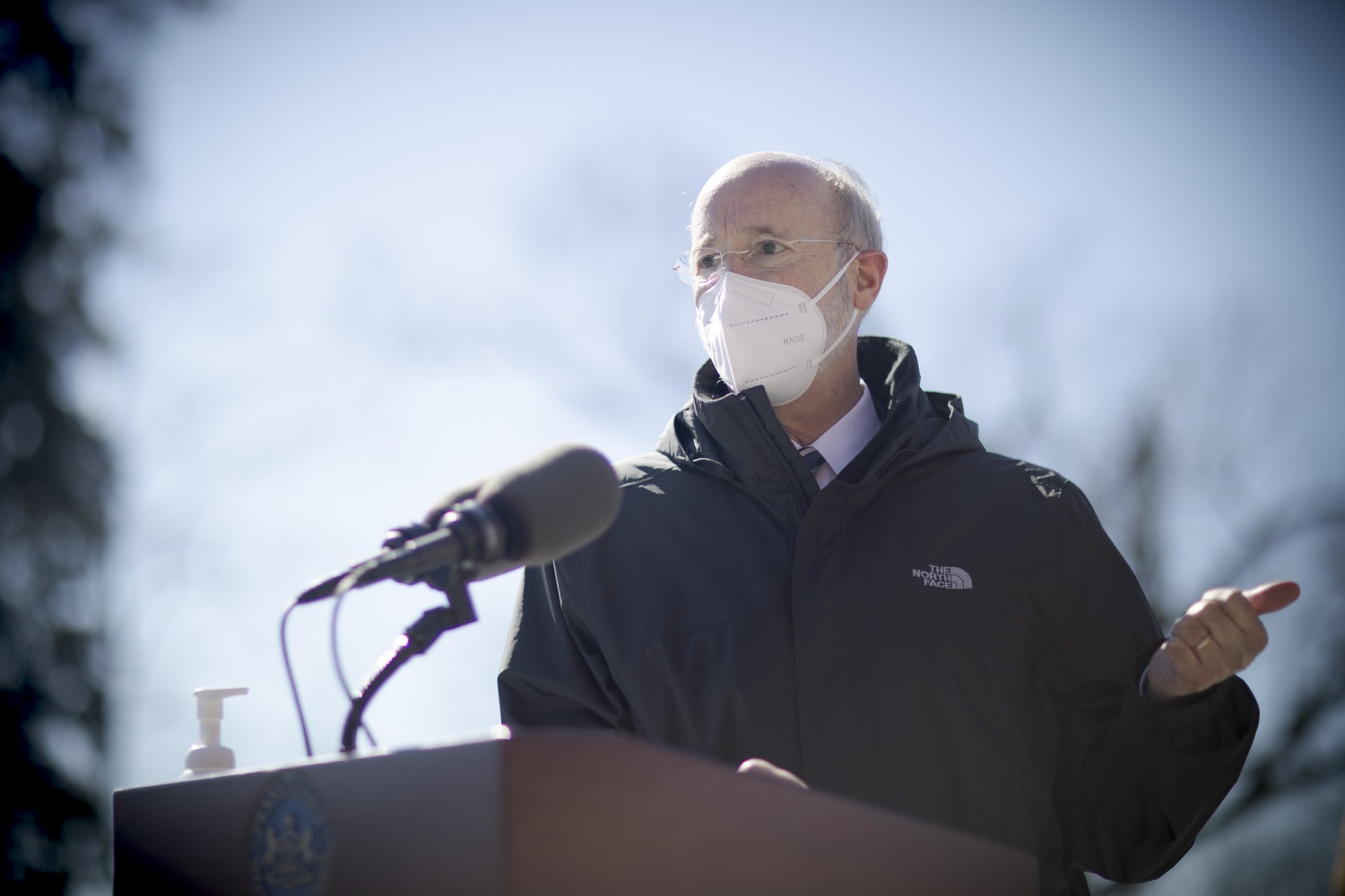 "<a href=""https://filesource.wostreaming.net/commonwealthofpa/photo/18560_gov_chirp_dz_15.jpg"" target=""_blank"">⇣ Download Photo<br></a>Pennsylvania Governor Tom Wolf answers questions from the press.  Governor Tom Wolf announced today that the hospitality industry will soon be able to apply for immediate relief through the COVID-19 Hospitality Industry Recovery Program (CHIRP), a new grant program established by the Wolf Administration to support local businesses in the hospitality industry that were affected by the COVID-19 pandemic. Harrisburg, PA  March 2, 2021. .."