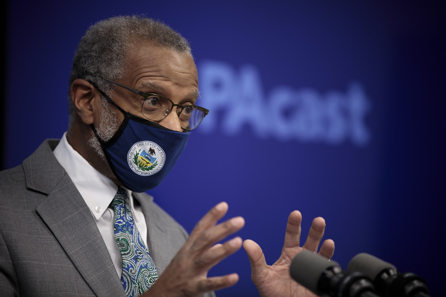 """<a href=""""https://filesource.wostreaming.net/commonwealthofpa/photo/18561_gov_vaccine_dz_02.jpg"""" target=""""_blank"""">⇣Download Photo<br></a>Sen. Art Haywood speaks at the press conference.As part of the priority to safely and quickly get more students back in the classroom, Governor Tom Wolf and the COVID-19 Vaccine Task Force today announced that Pennsylvania will use the Johnson & Johnson (Janssen) single-dose COVID-19 vaccine for PreK-12 teachers and other school staff. Harrisburg, PA  March 3, 2021"""